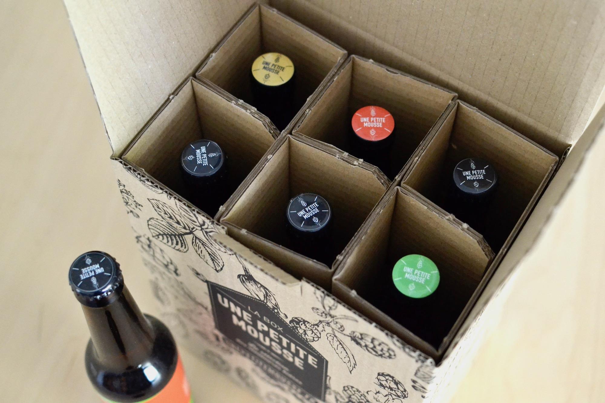 Box de bières Une Petite Mousse