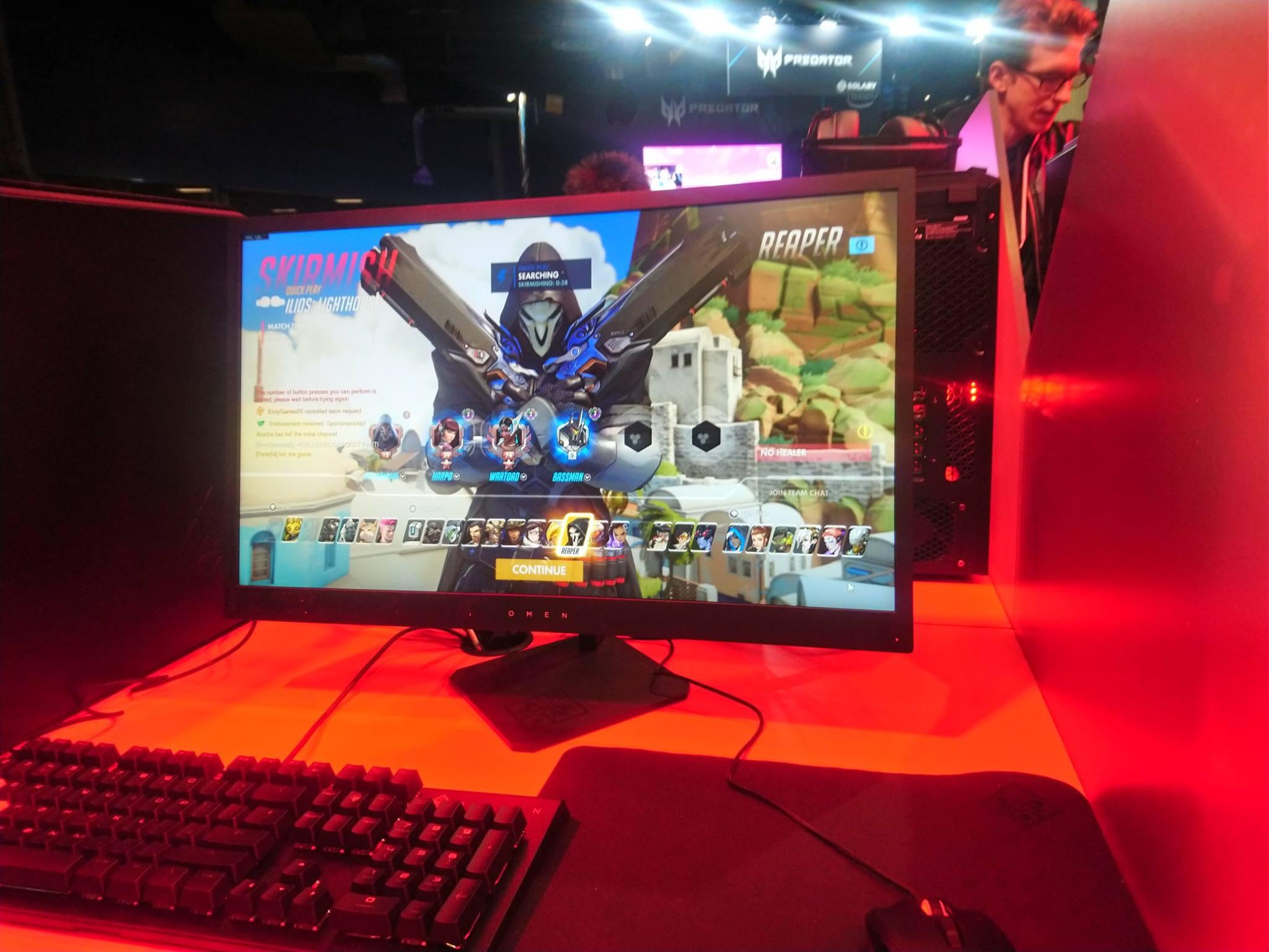 Jeux vidéo - Omen by HP - Paris Games Week