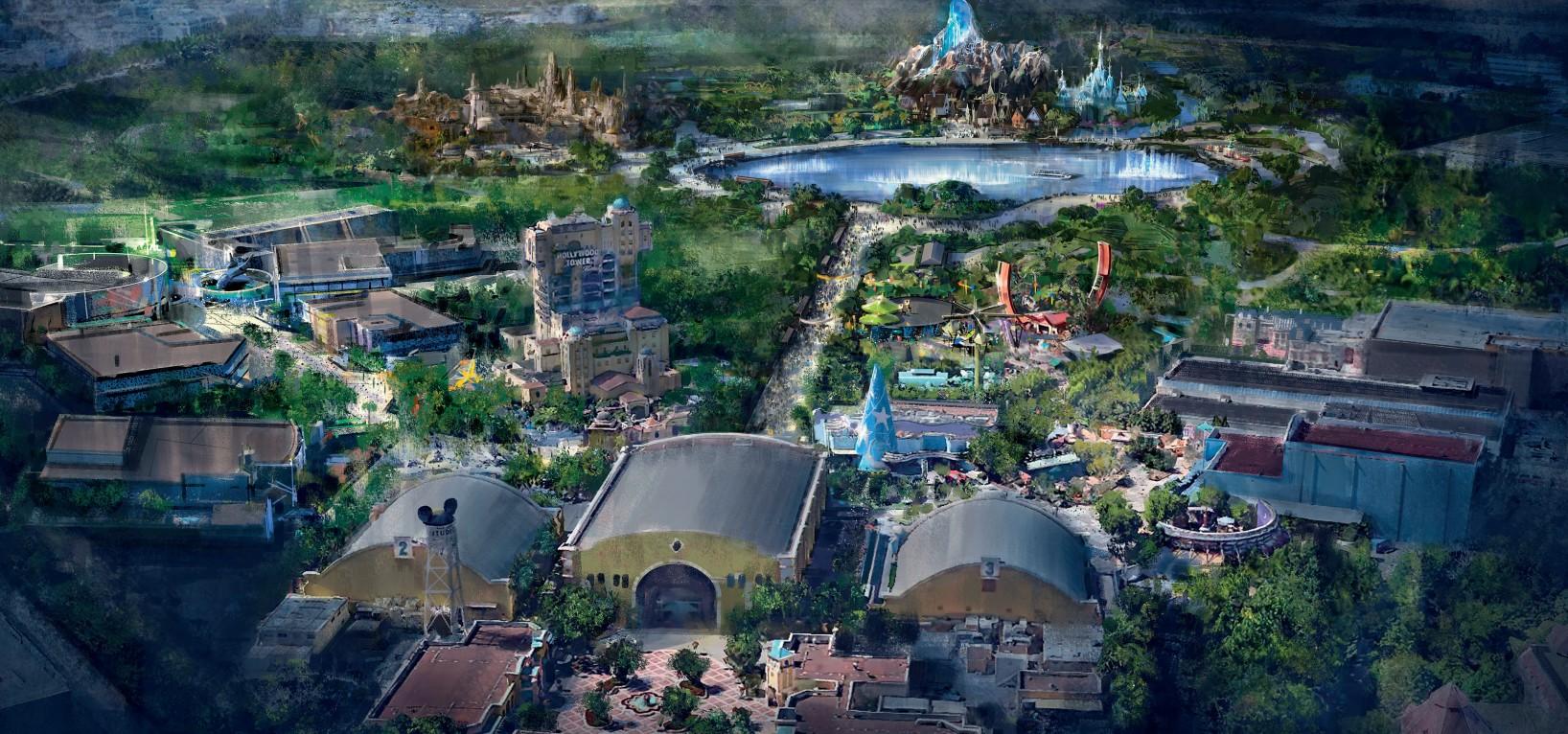 Walt Disney Studios - Concept art 2025