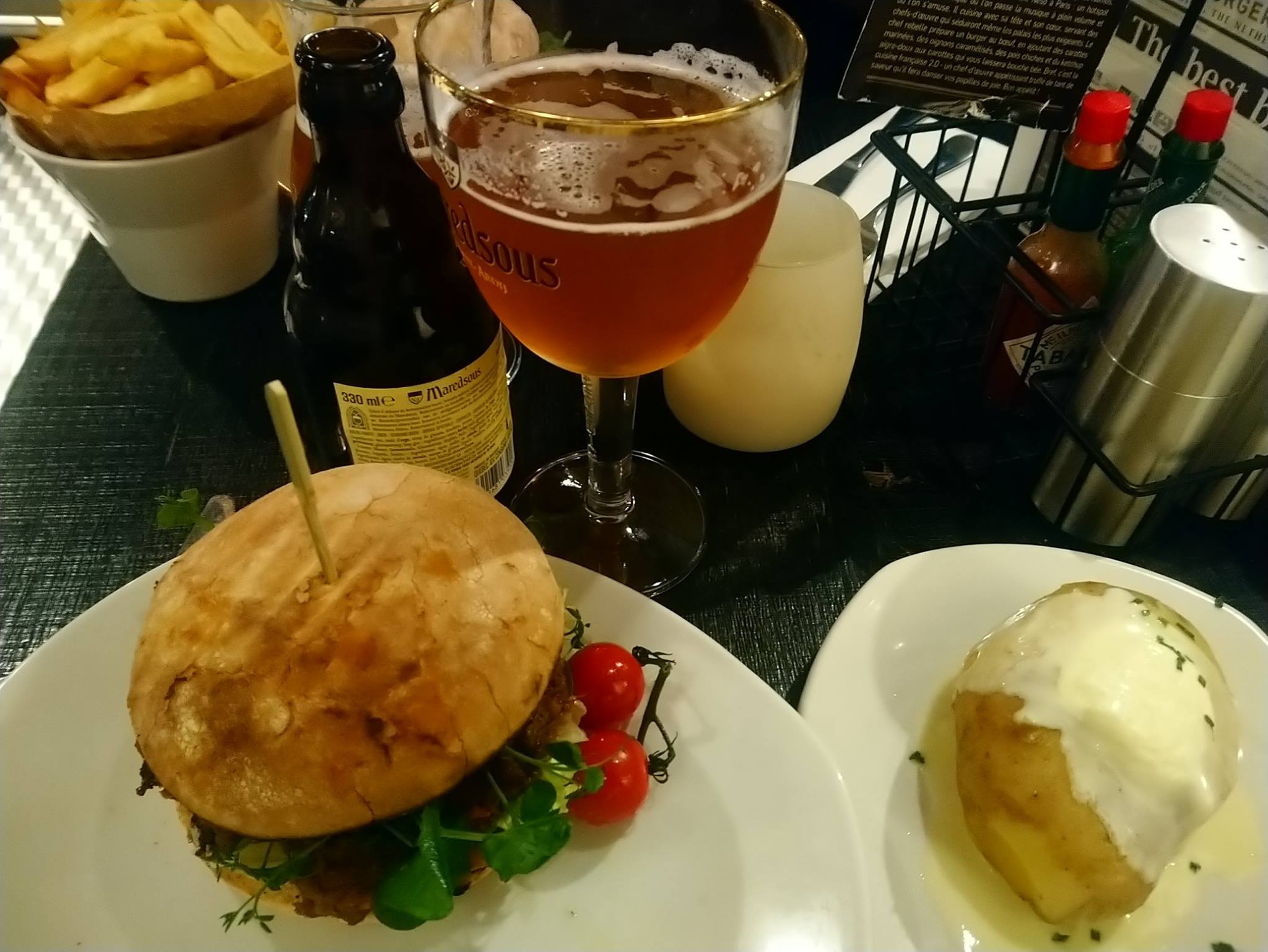 Rebel Pulled Boeuf - Ellis Gourmet Burger