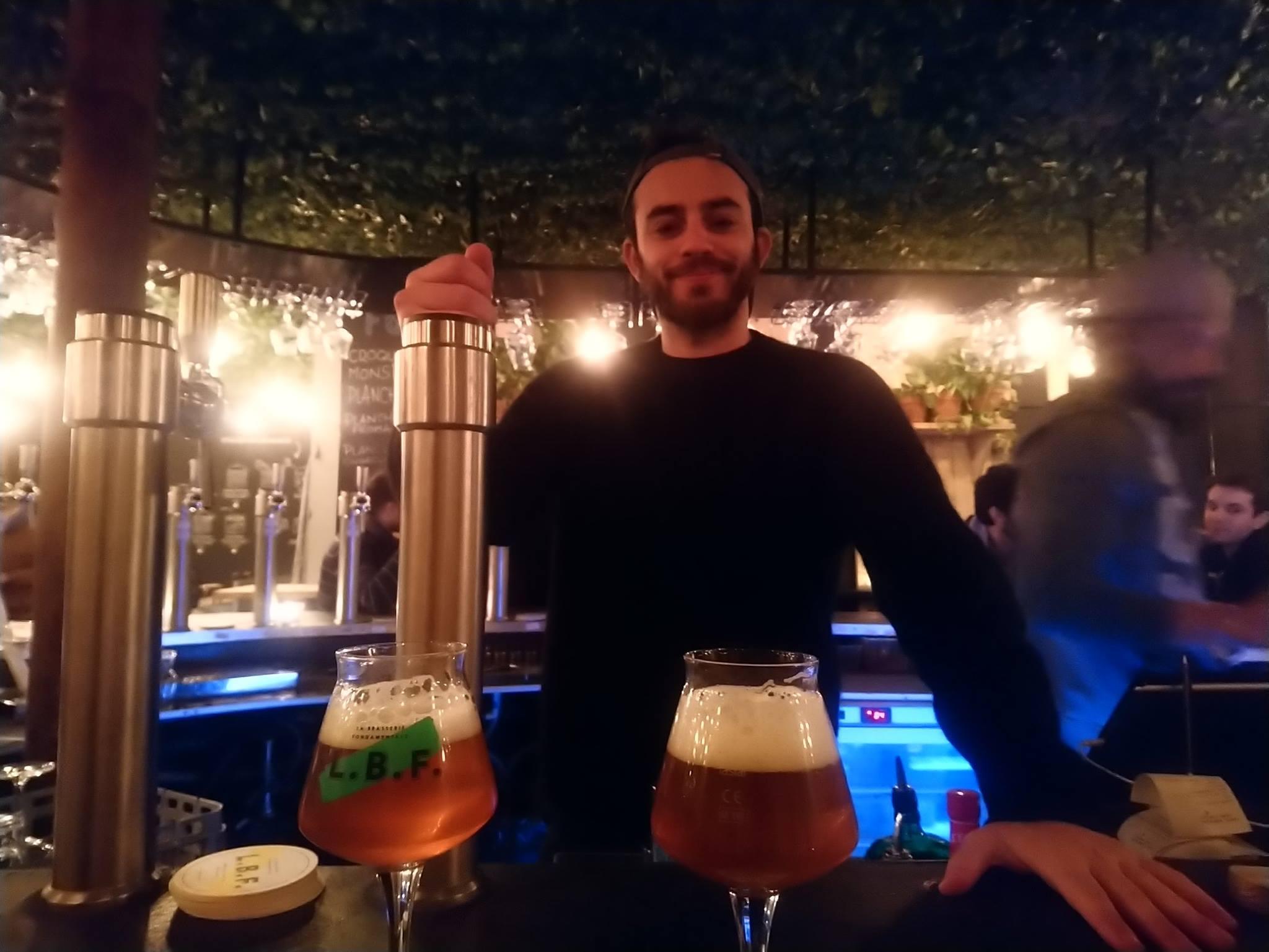 Youssef Chairbi - Le Bar Fondamental - Paris