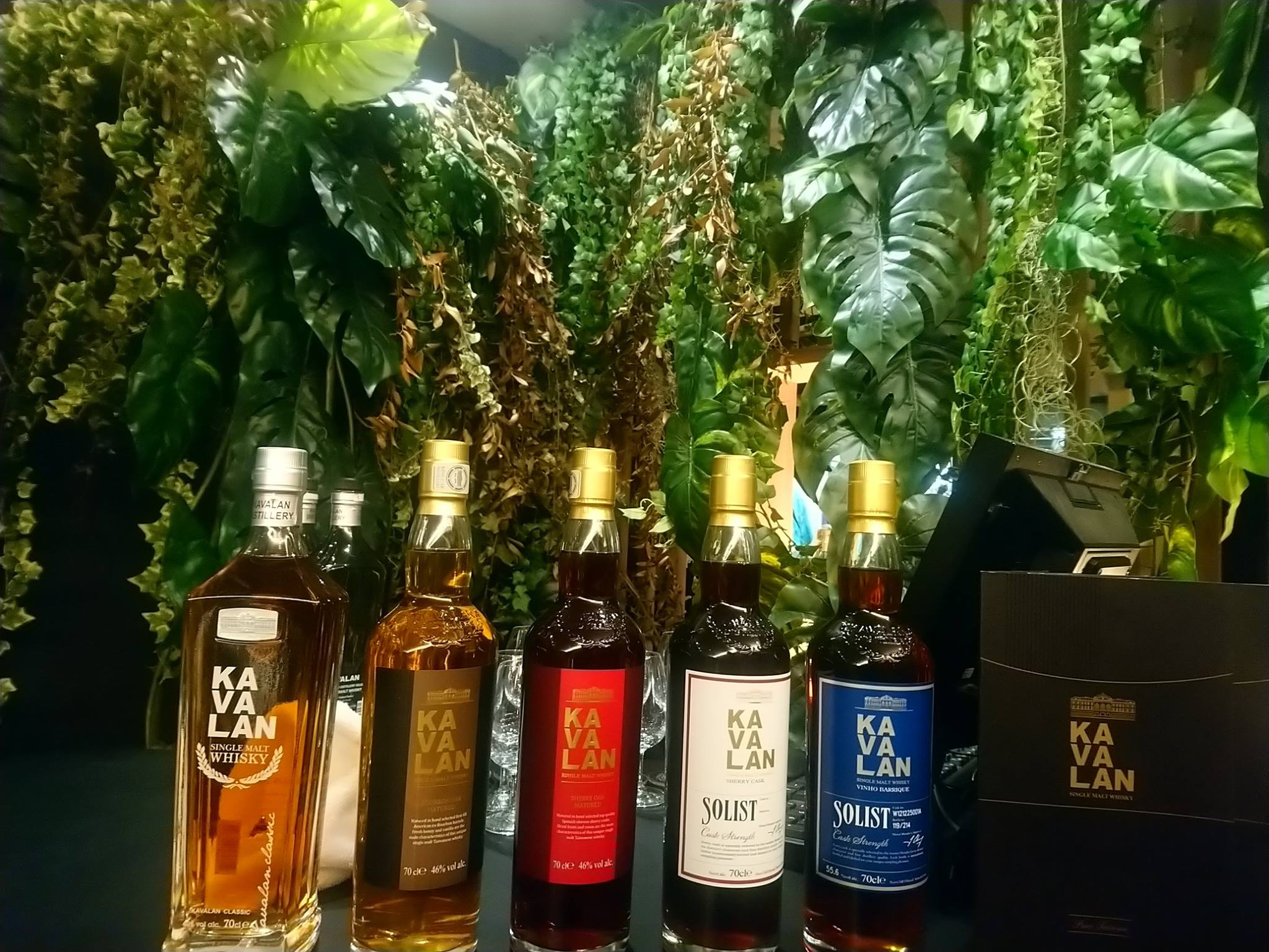 Whiskies Kavalan au Golden Promise de La Maison du Whisky à Paris