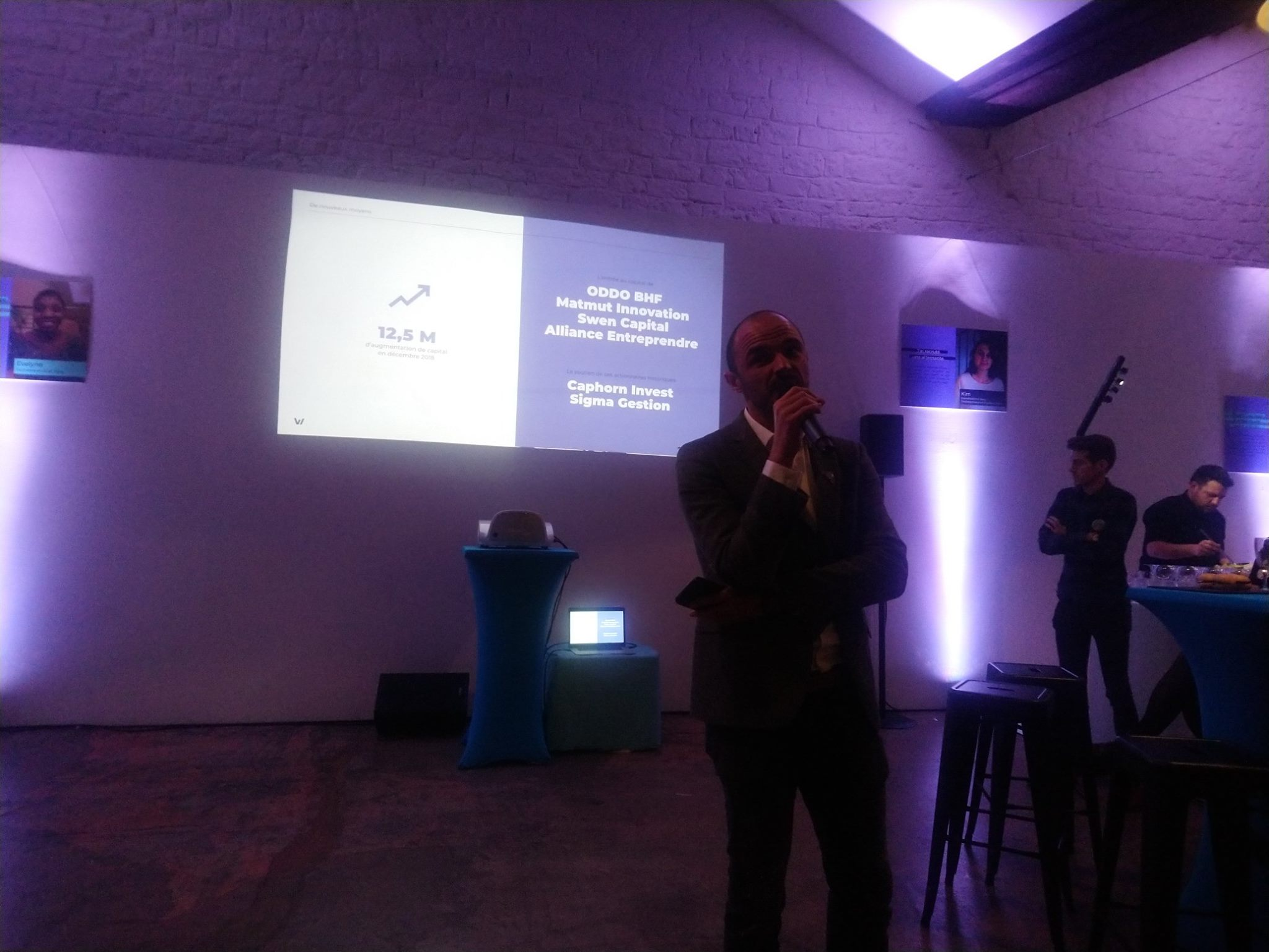 Benjamin Ducousso, CEO de Wizbii
