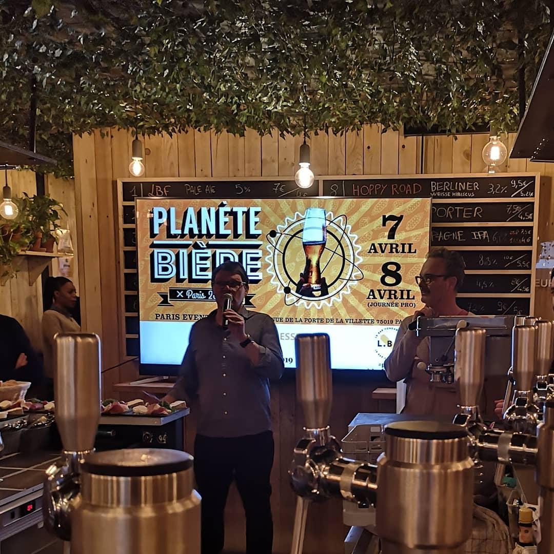 Planète Bière - Philippe Jugé et Franck Poncelet