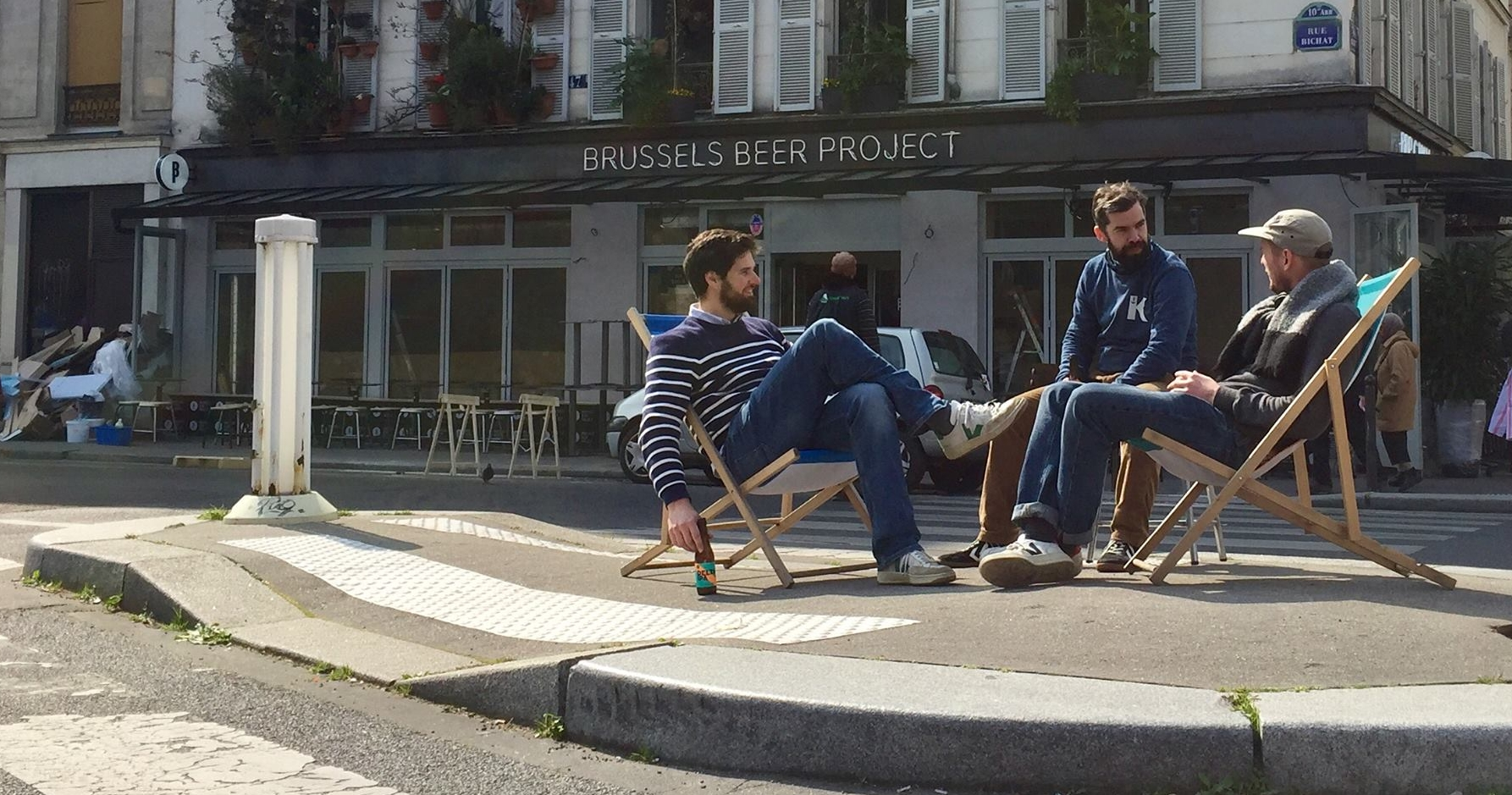 Brussels Beer Project Canal - Rue Bichat, Paris