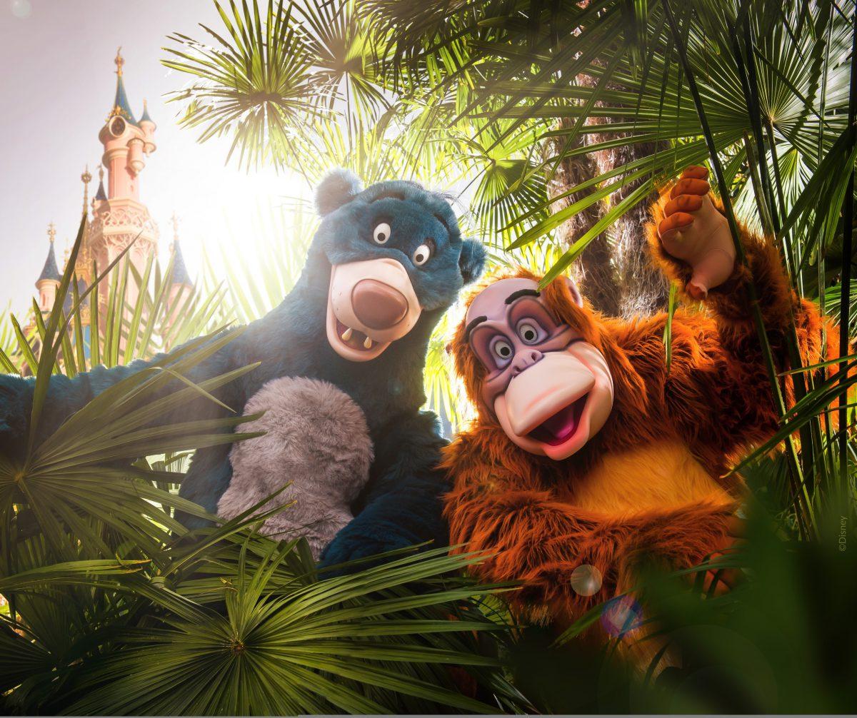 Baloo au Parc Disneyland : Festival du Roi Lion 2019 à Disneyland Paris