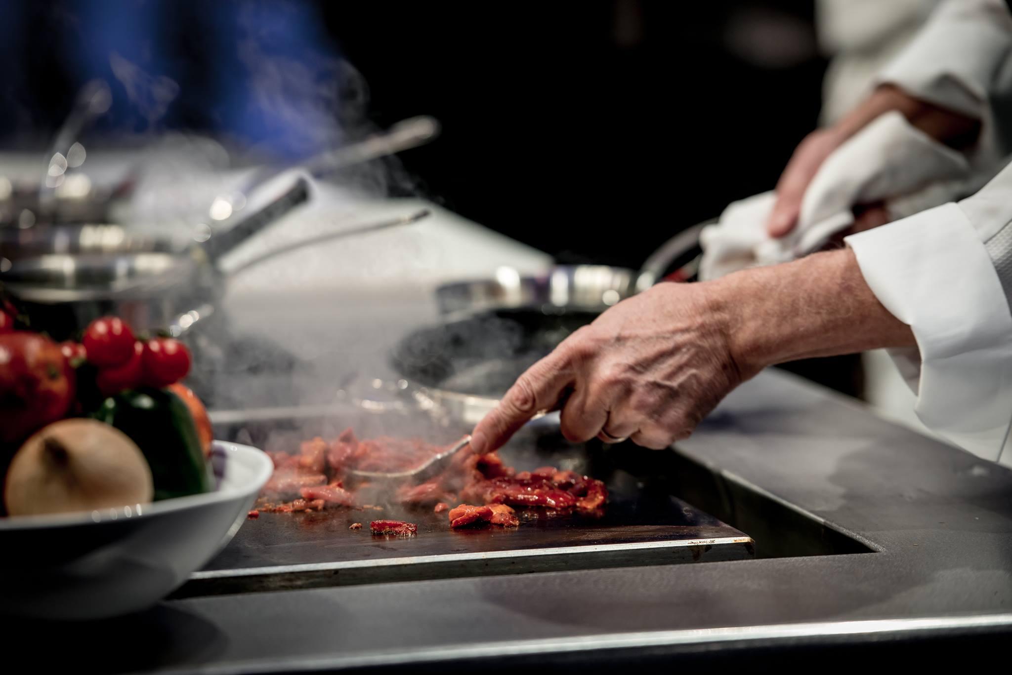 Omnivore World Tour Paris : séance de live cooking