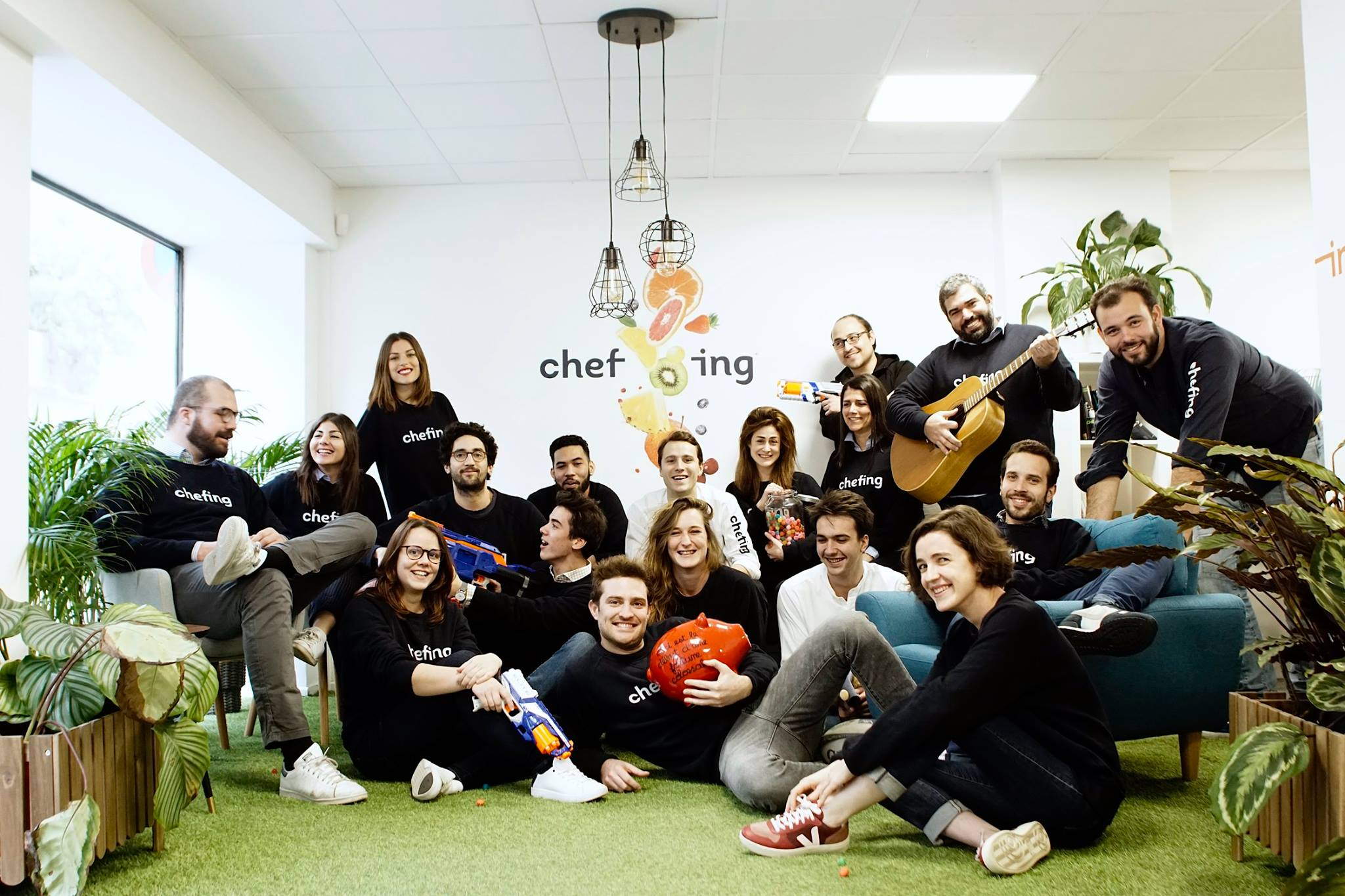 Chefing - Start-up traiteur B2B à Paris