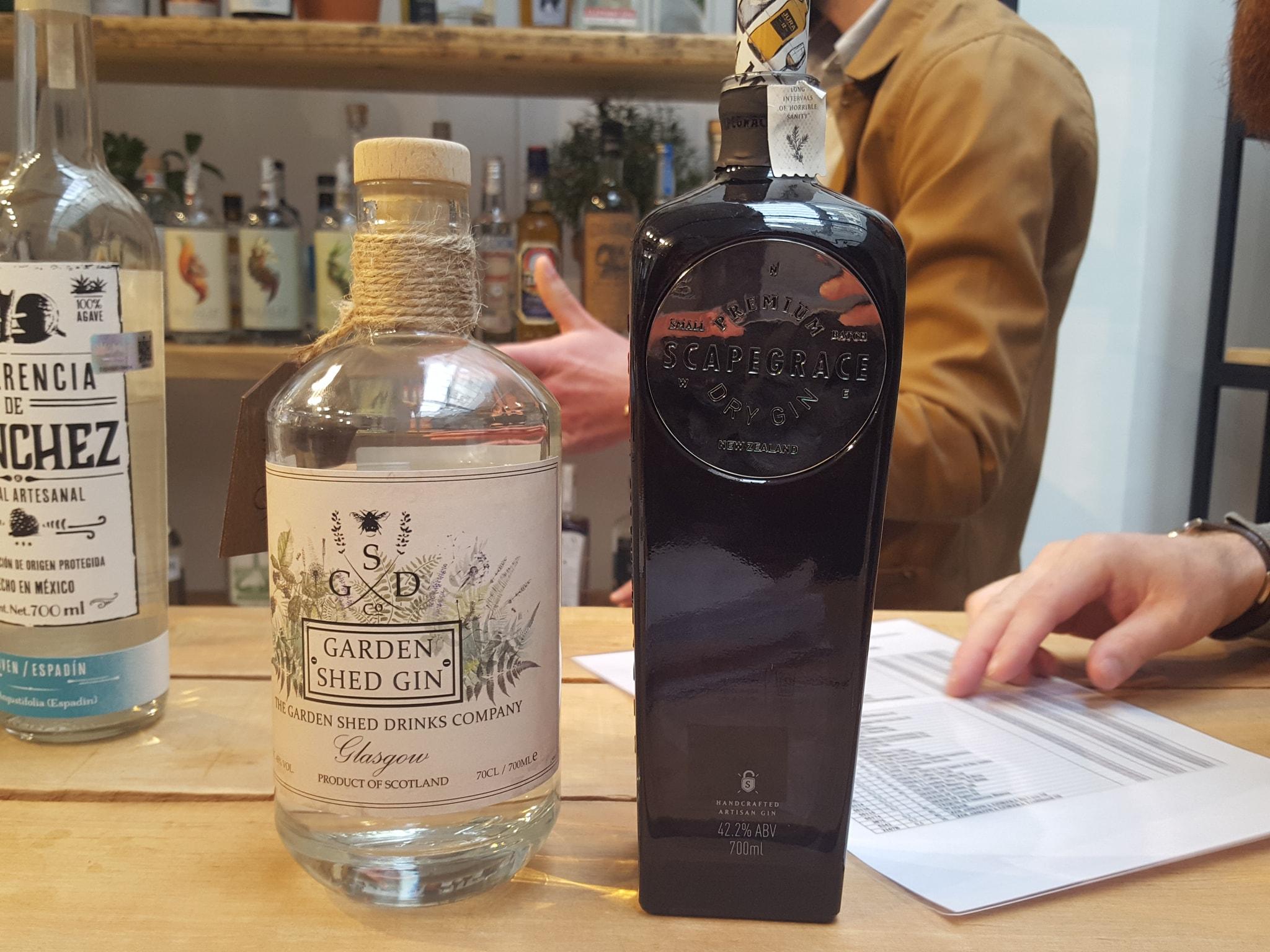 Nouveaux gins à La Maison du Whisky