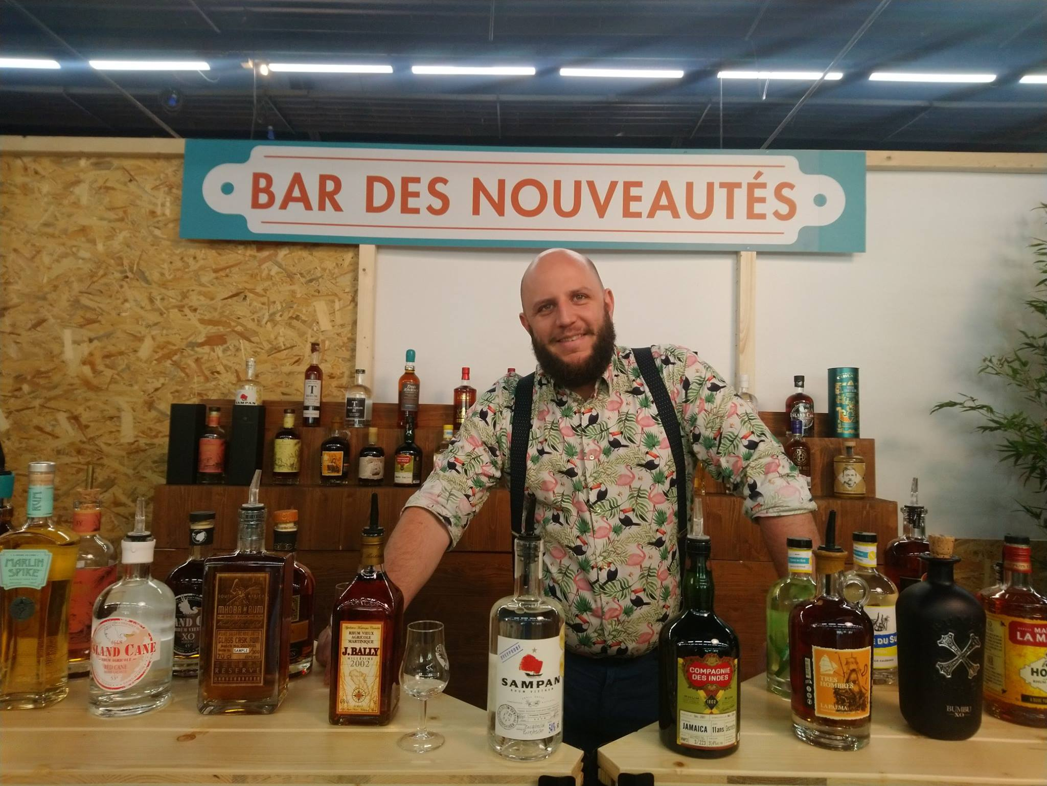 Marc Battais - Bar'oof Cocktail Events - Rhum Fest 2019
