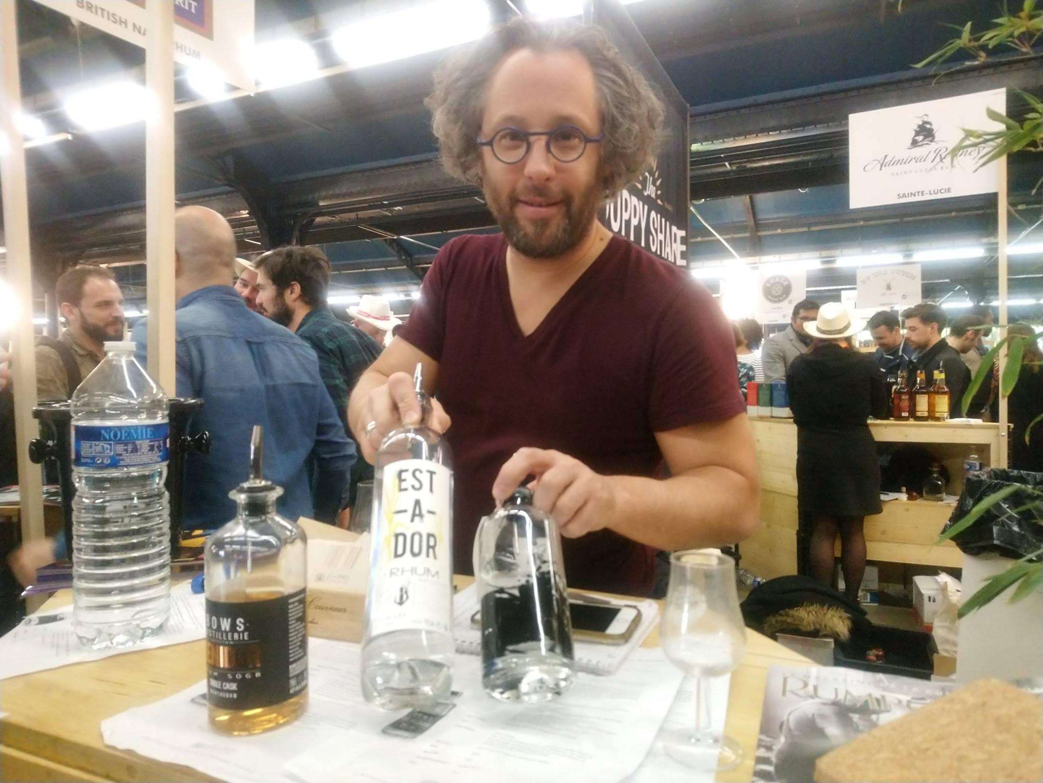 Guillaume Botté - Free Spirits Distribution - Rhum fest 2019