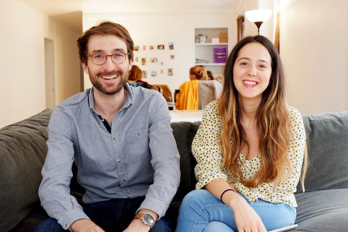 Adrien et Camille, cofondateurs de Funky Veggie
