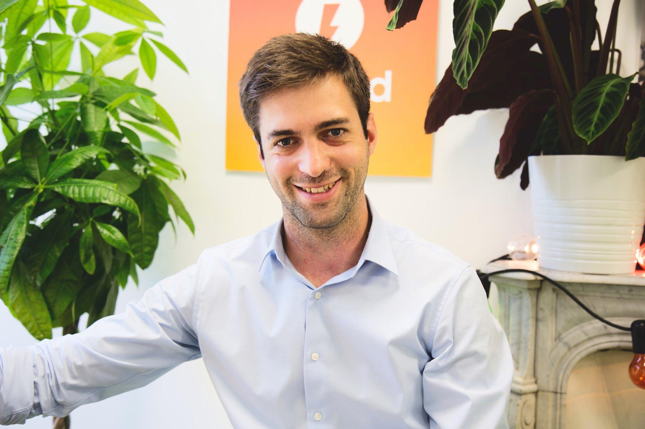 Florent Malbranche, CEO de Brigad