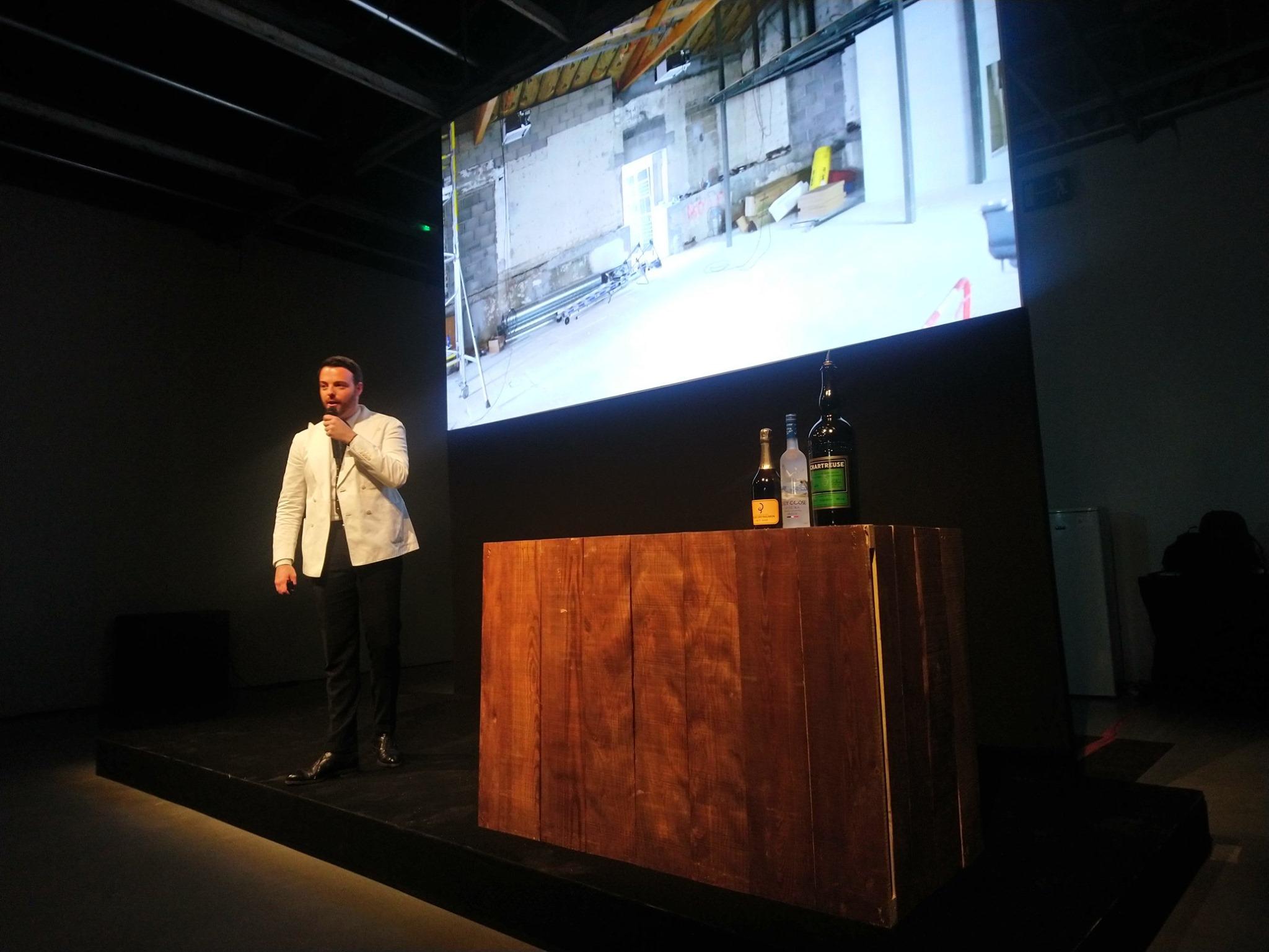 Marc Bonneton - L'Officine (Lyon) - Cocktails Spirits 2019