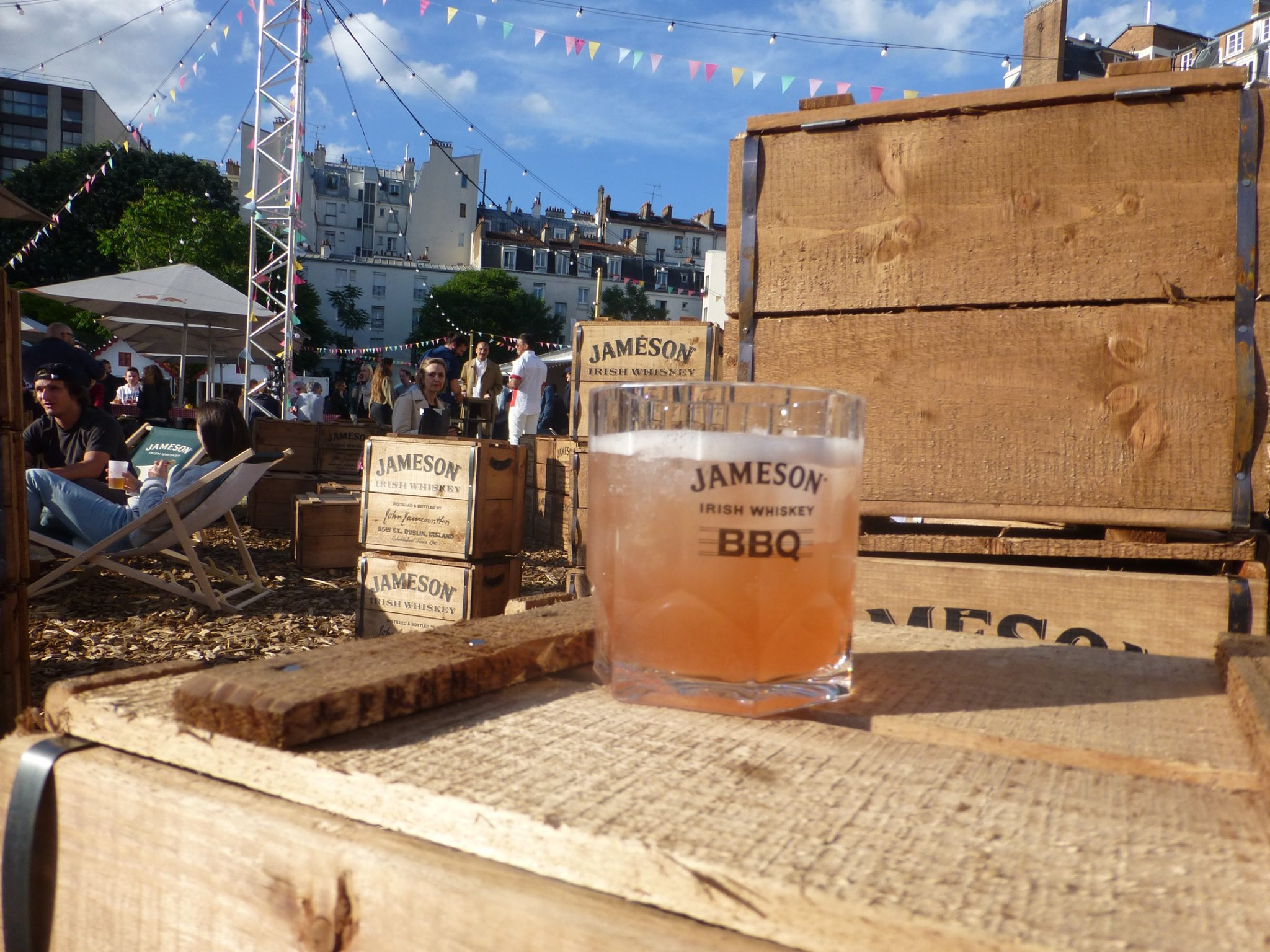 Jameson BBQ au Marché Pop à Paris