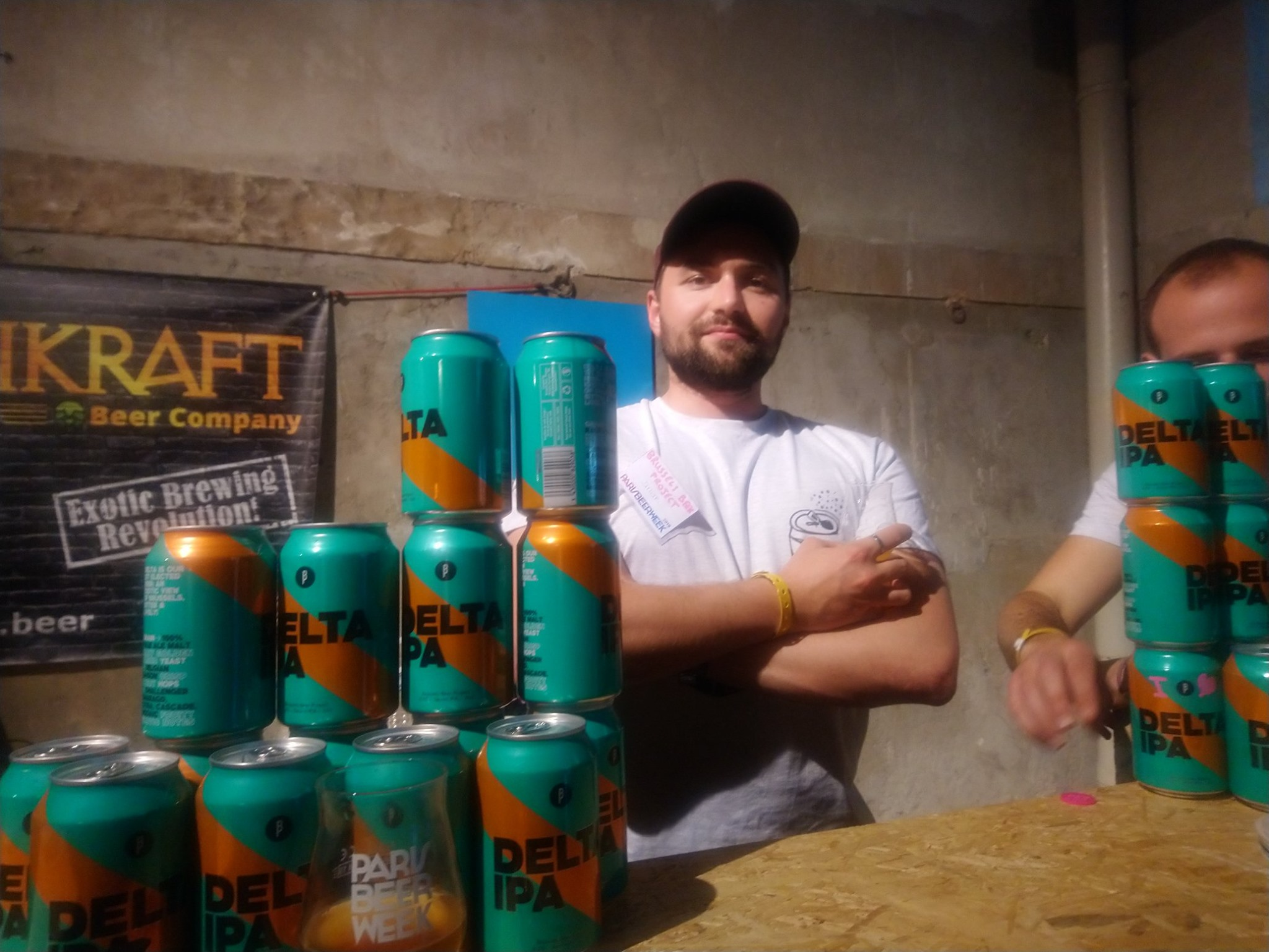 Dimitri - Brussels Beer Project - Paris Beer Week 2019