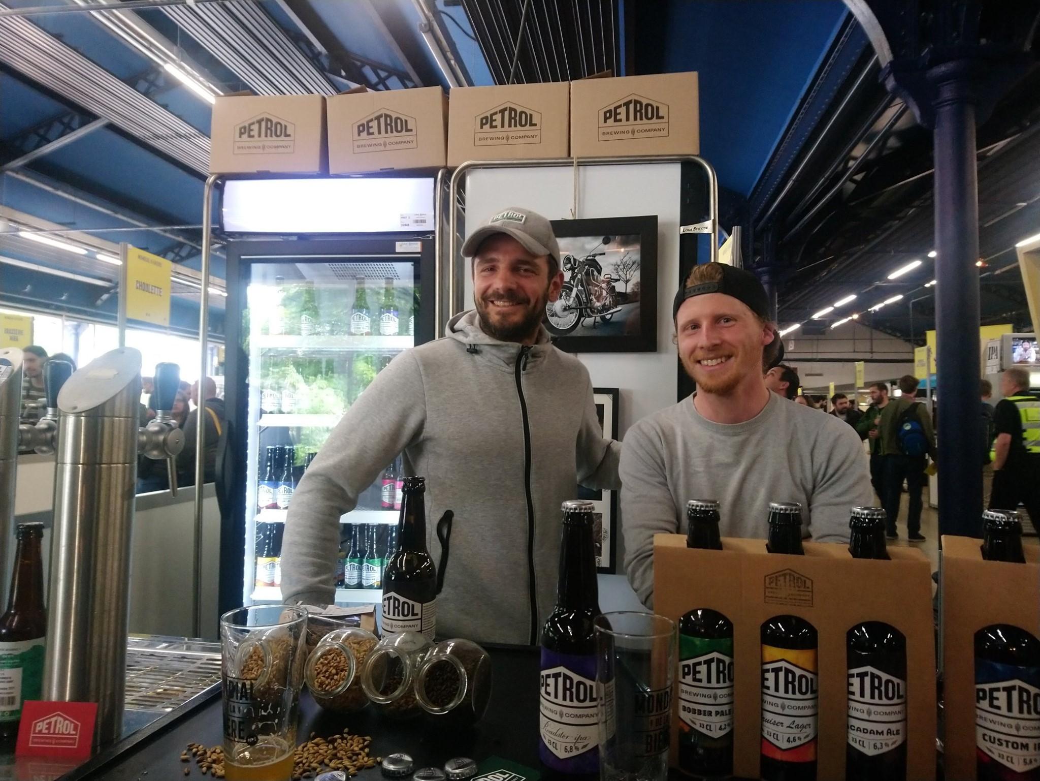 Damien et Thomas - Petrol Brewing Co - Mondial de la Bière 2019