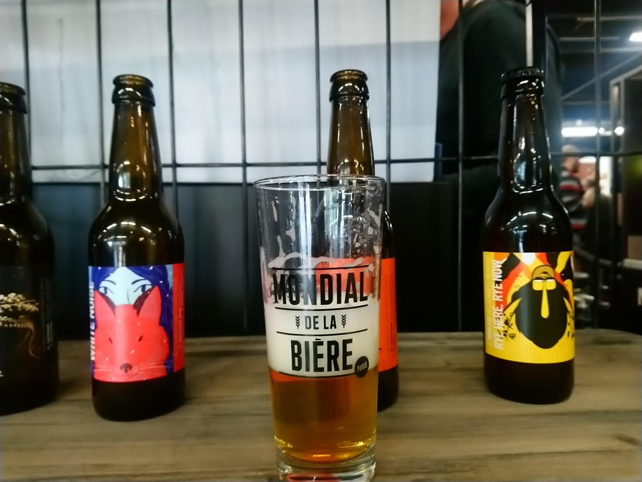 Une petite mousse - Mondial de la Bière 2019