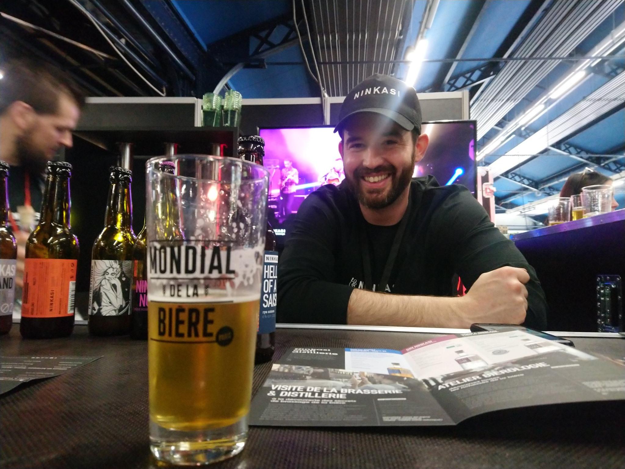 Matthieu Mahé - Ninkasi - Mondial de la Bière 2019