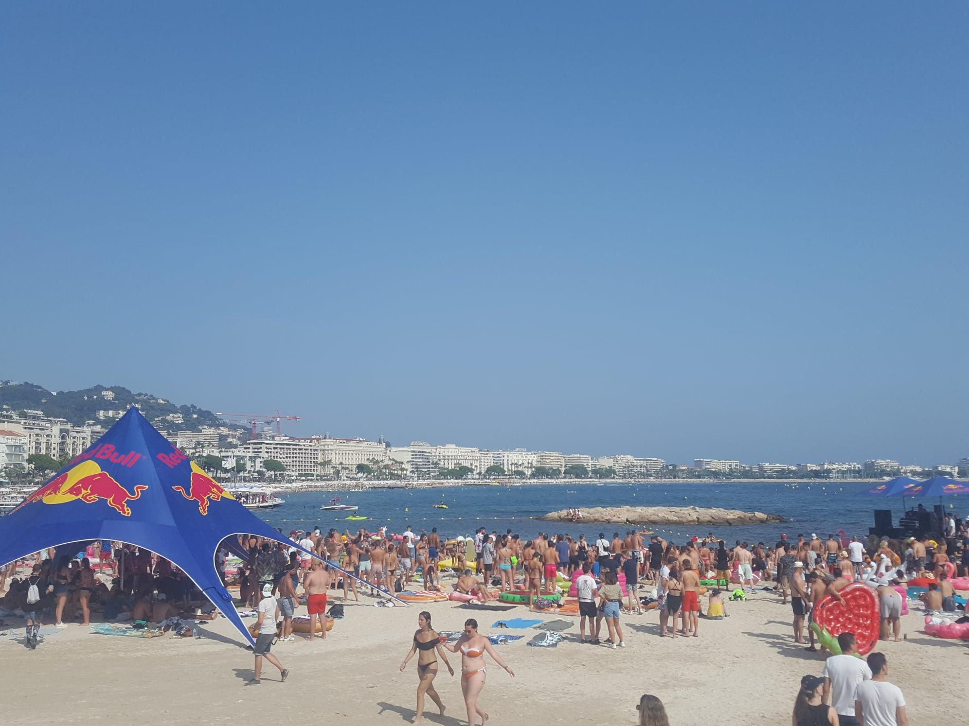Les Plages électroniques - Cannes - 11 août 2019 - Plage et mer
