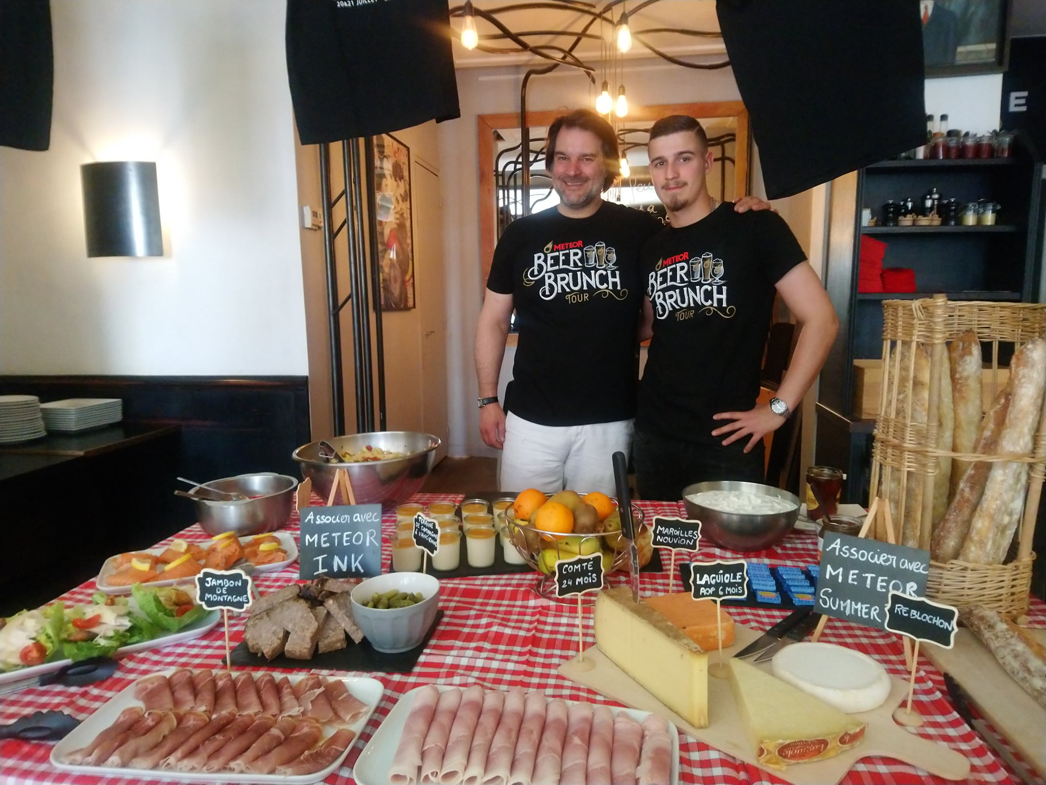 Brasserie Meteor - Beer brunch tour - Bière et food pairing - Mathieu Pfauwadel