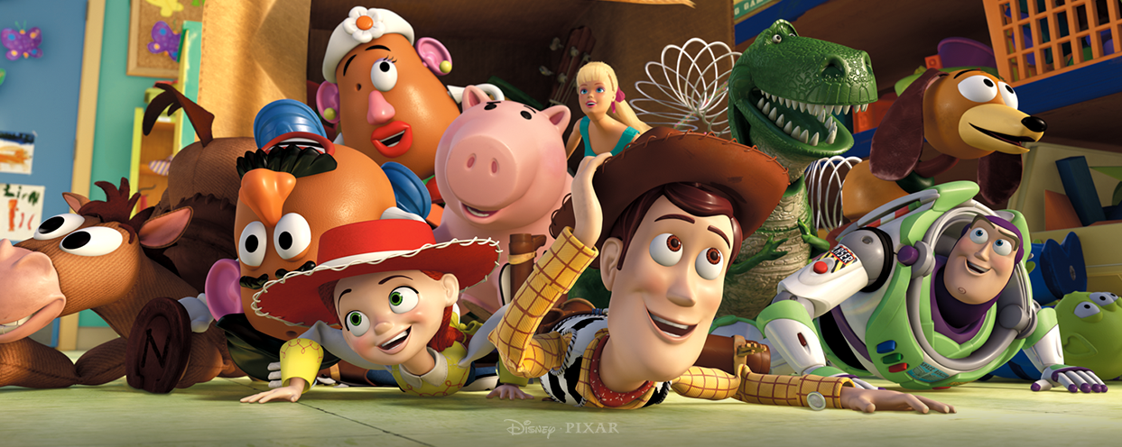Personnages des films Toy Story (Disney)