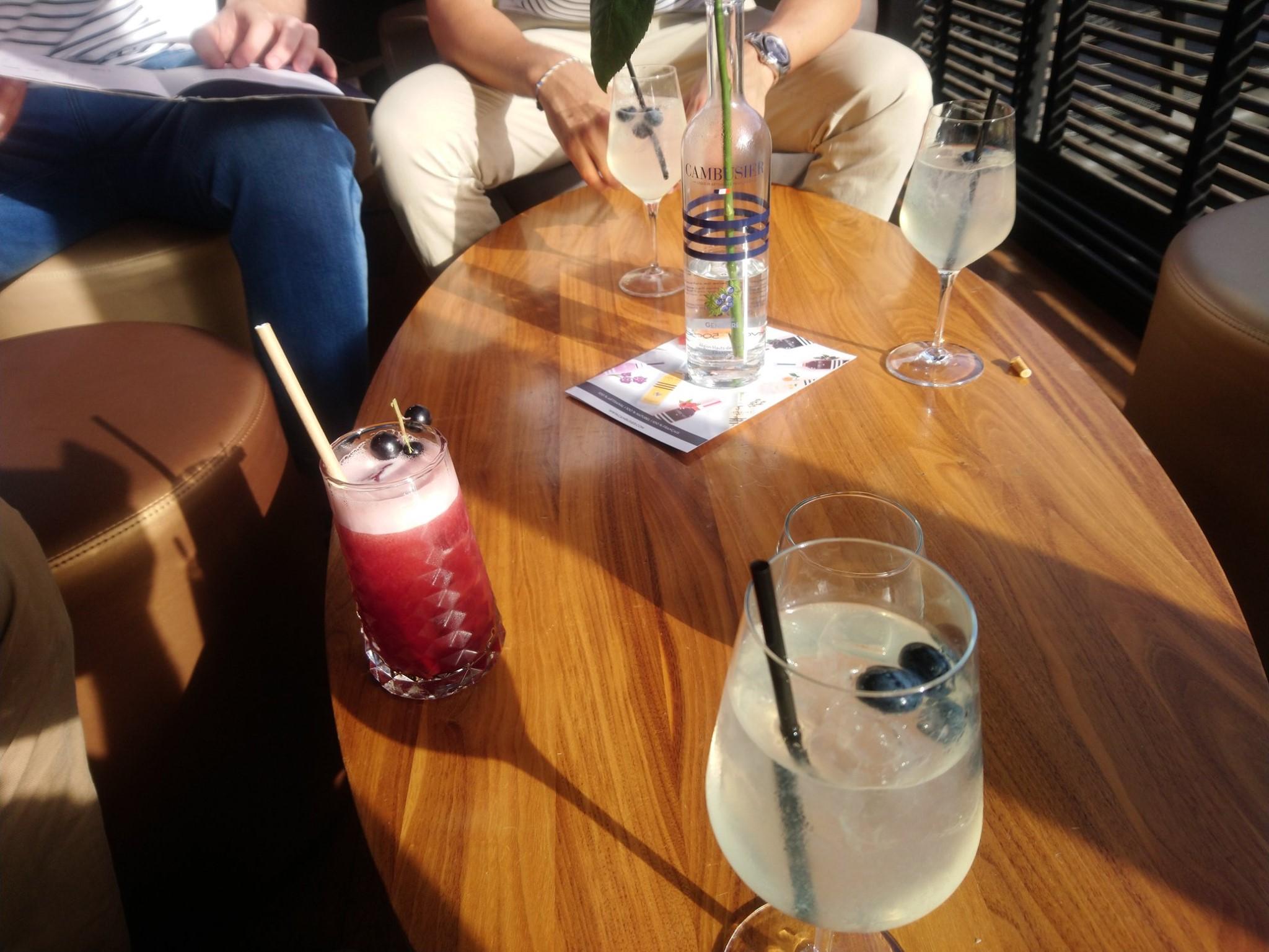 Cocktails aux liqueurs Cambusier