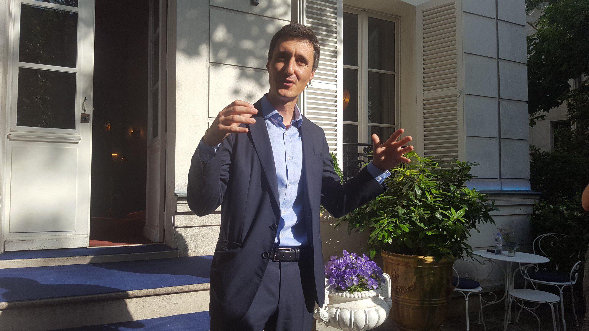Christophe Valtaud, maître de chai Martell