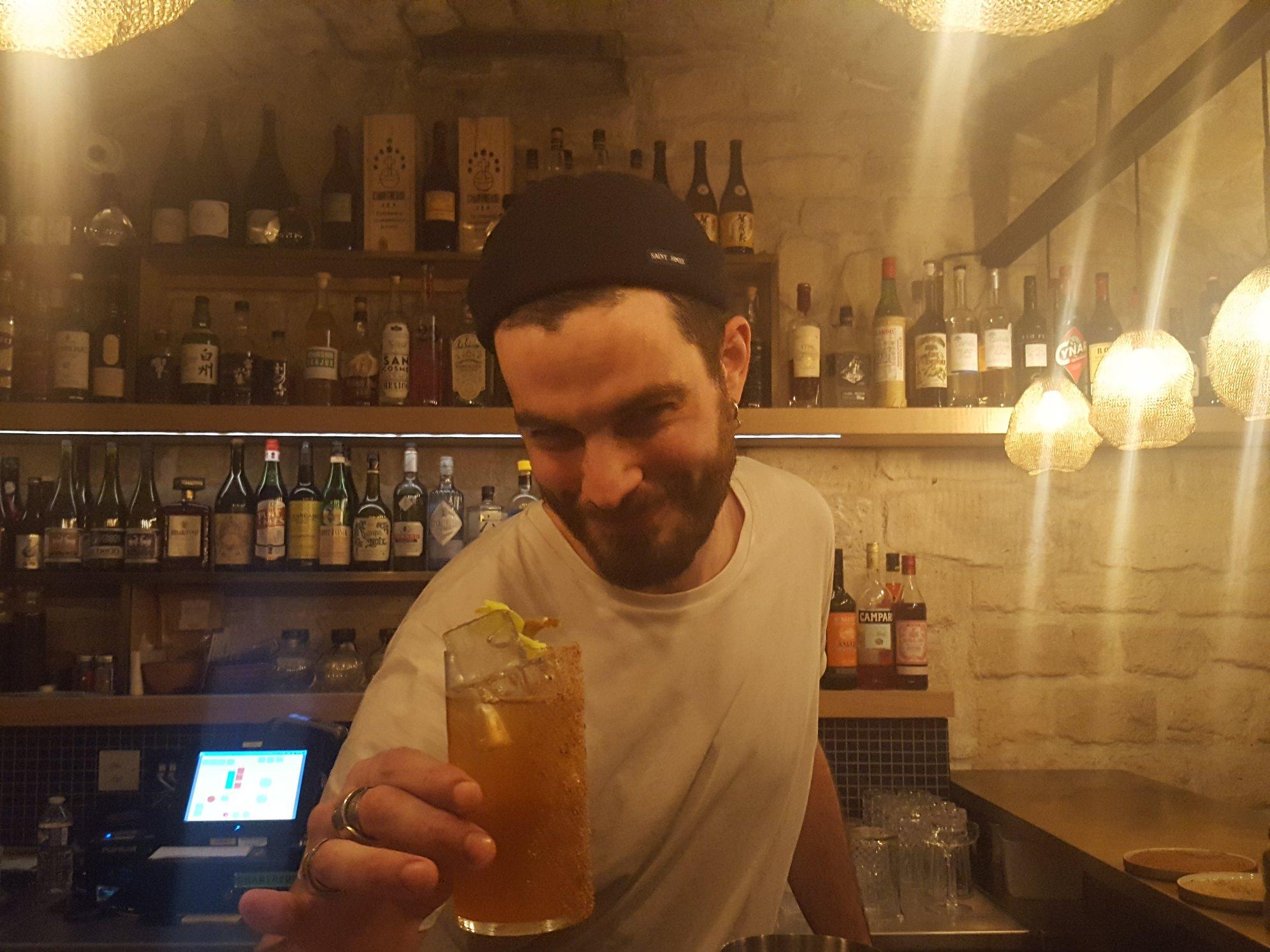 Robin Jude Le Texier - Breizh Café Montorgueil - Bartender - Paris