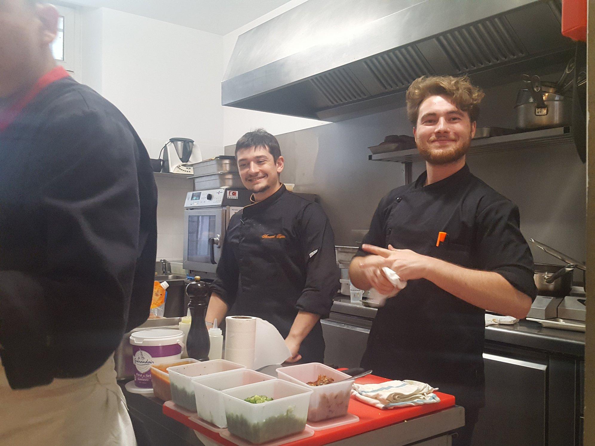 Les Cuves de Fauve - Equipe de cuisine