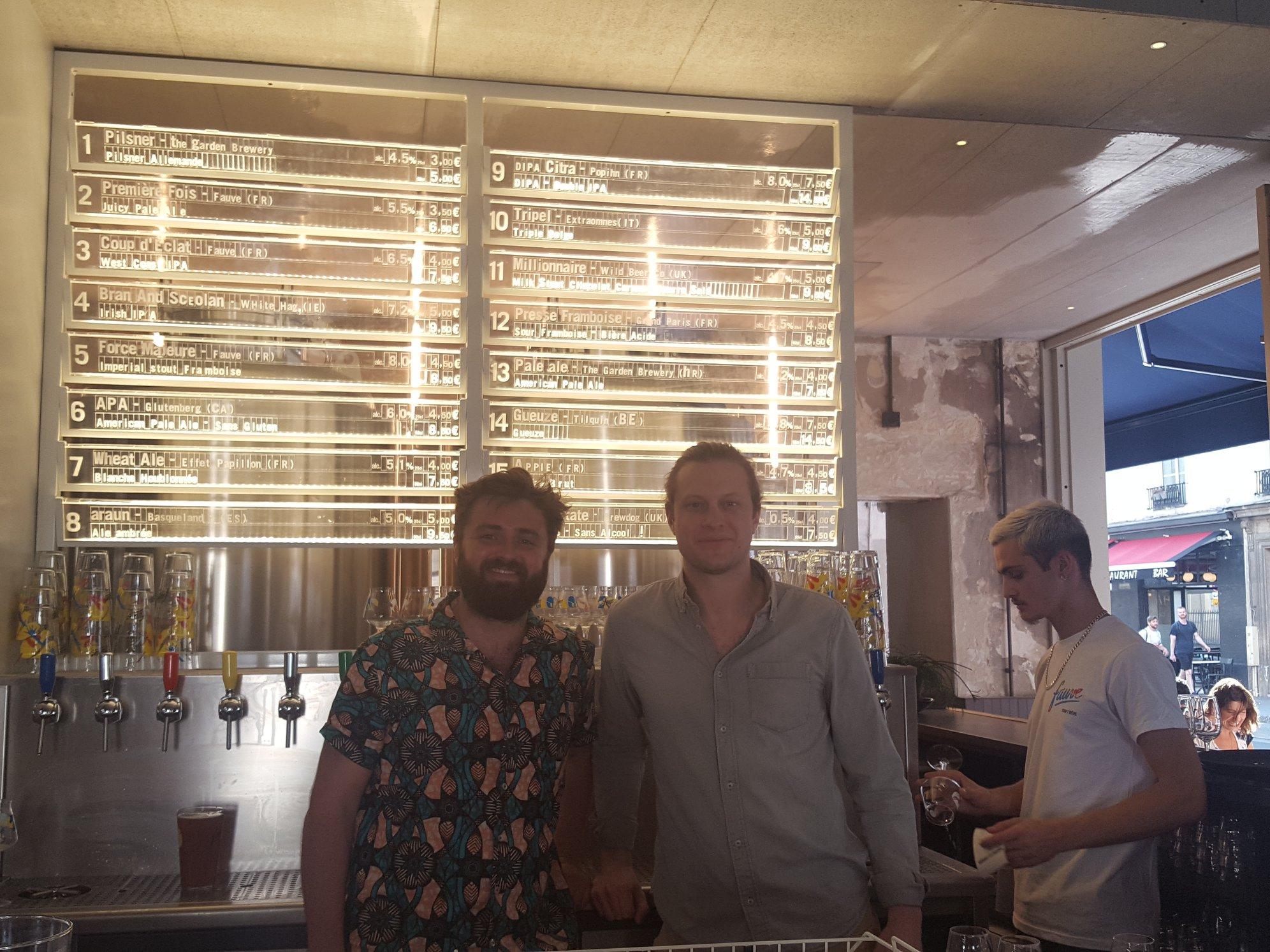 Cyprien Maisonnier et Antoine Robic - Fauve Craft Bière