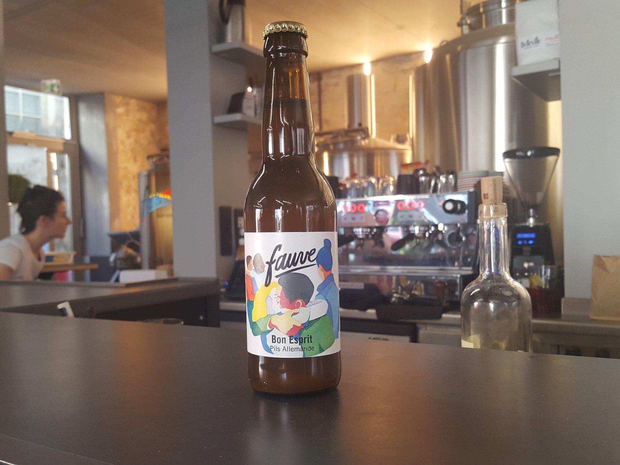 Bon Esprit - Pils allemande de Fauve Craft Bière