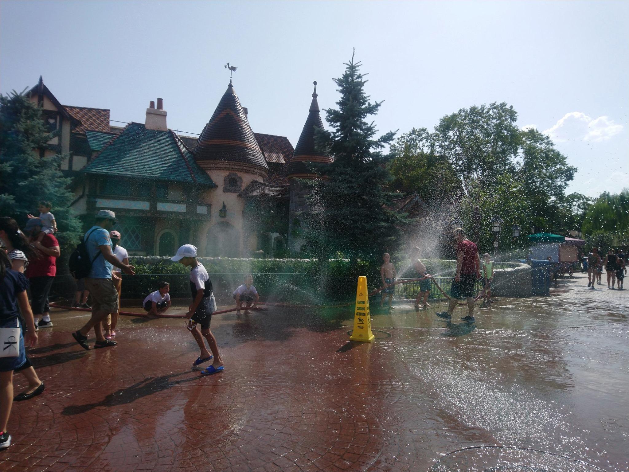 Disneyland Paris - Jeudi 25 juillet 2019 - Jour de canicule record