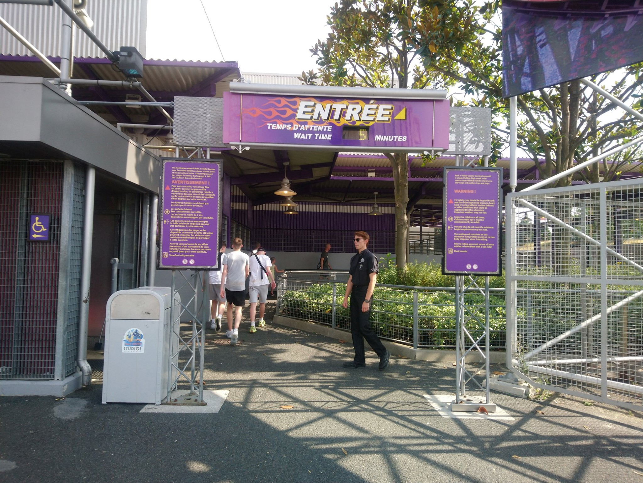 Disneyland Paris - Jeudi 25 juillet 2019 - Rock n'Roller Coaster