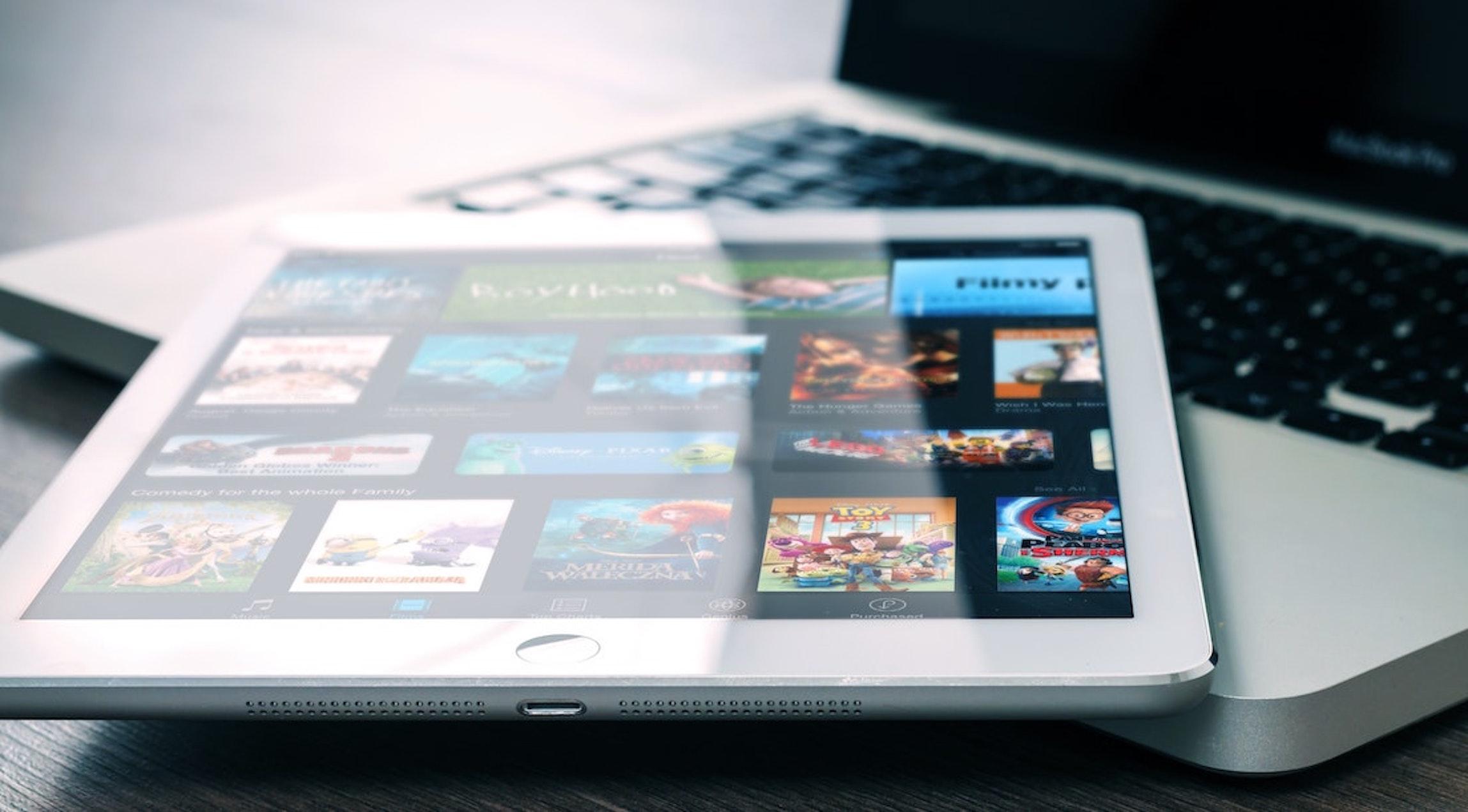 Netflix et tablettes connectées