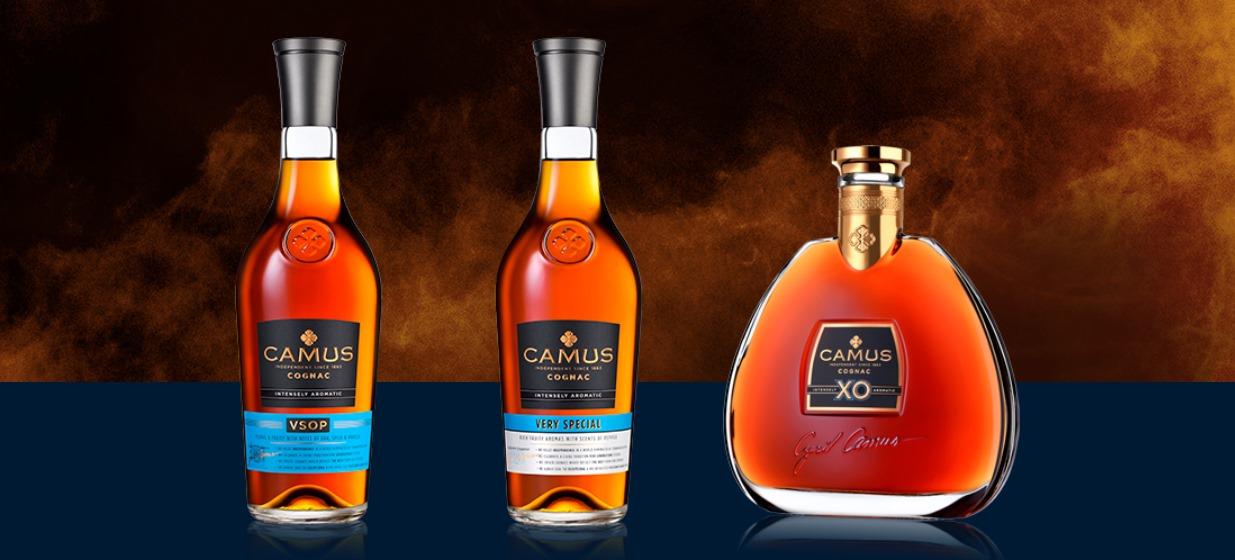 Cognacs Camus - Nouvelle gamme VSOP VS XO