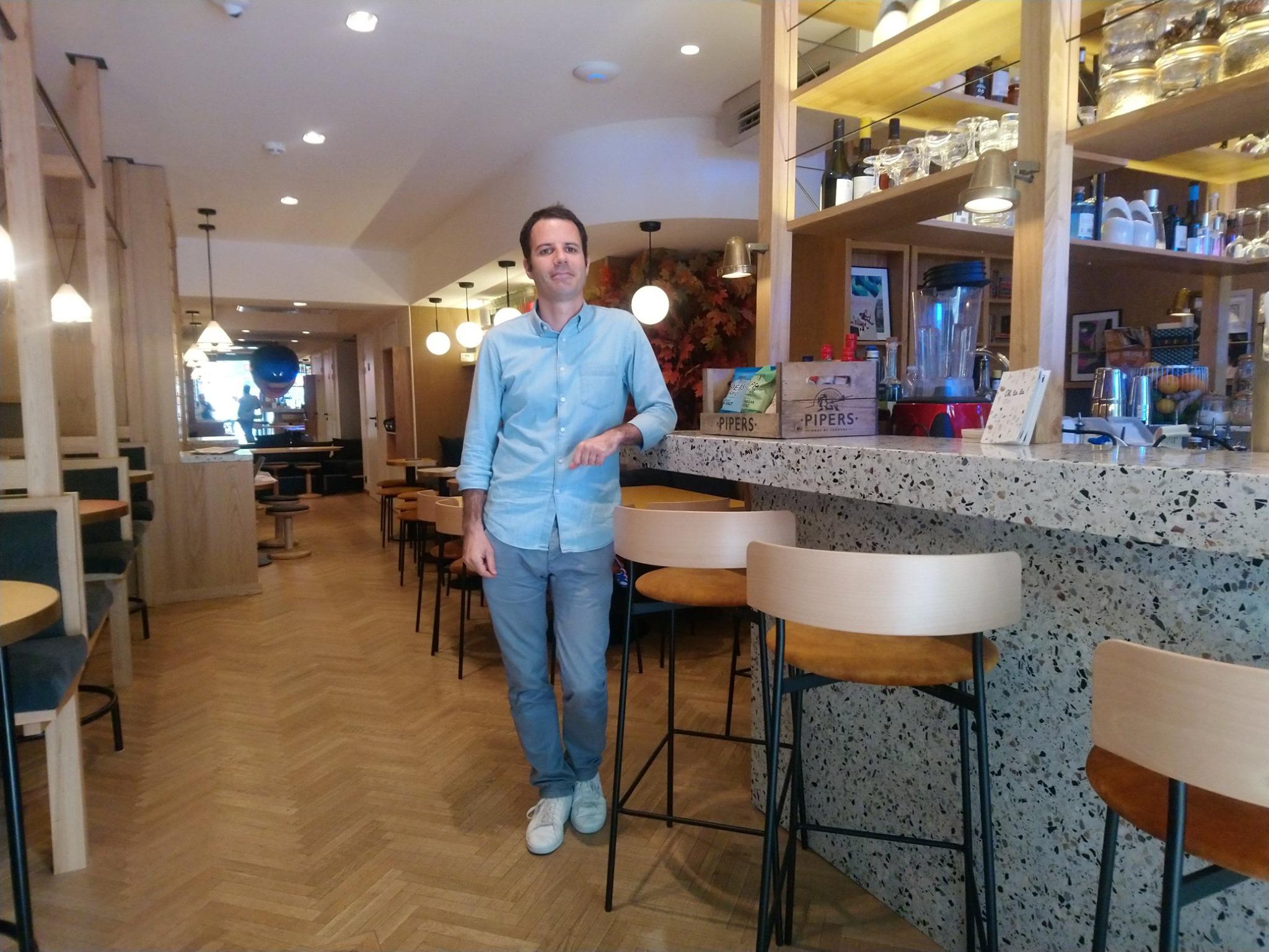 Oh la la - Julien Trollet - Gérant de bars