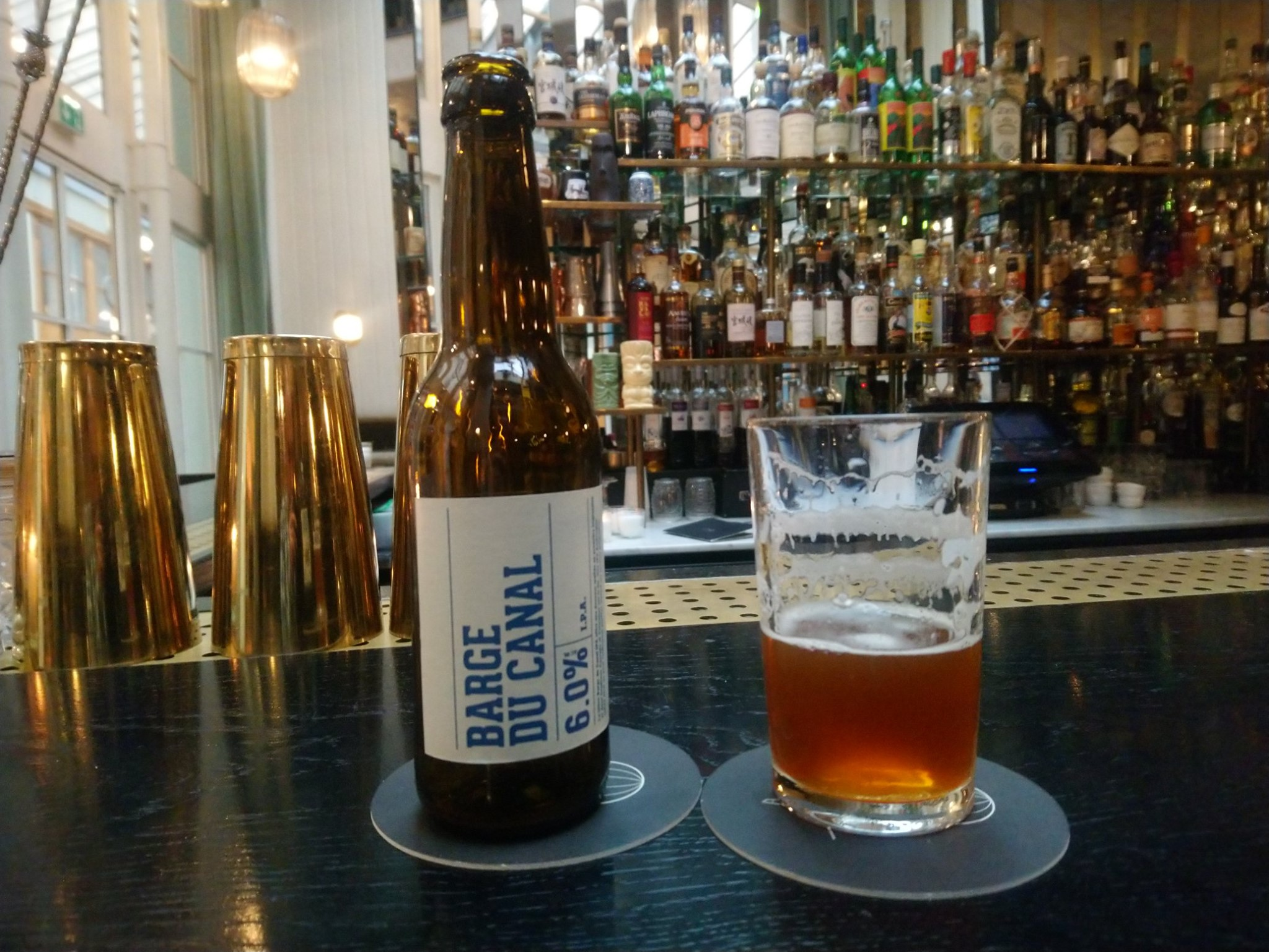 IPA Barge du Canal - Paname Brewing Company - Danico Paris
