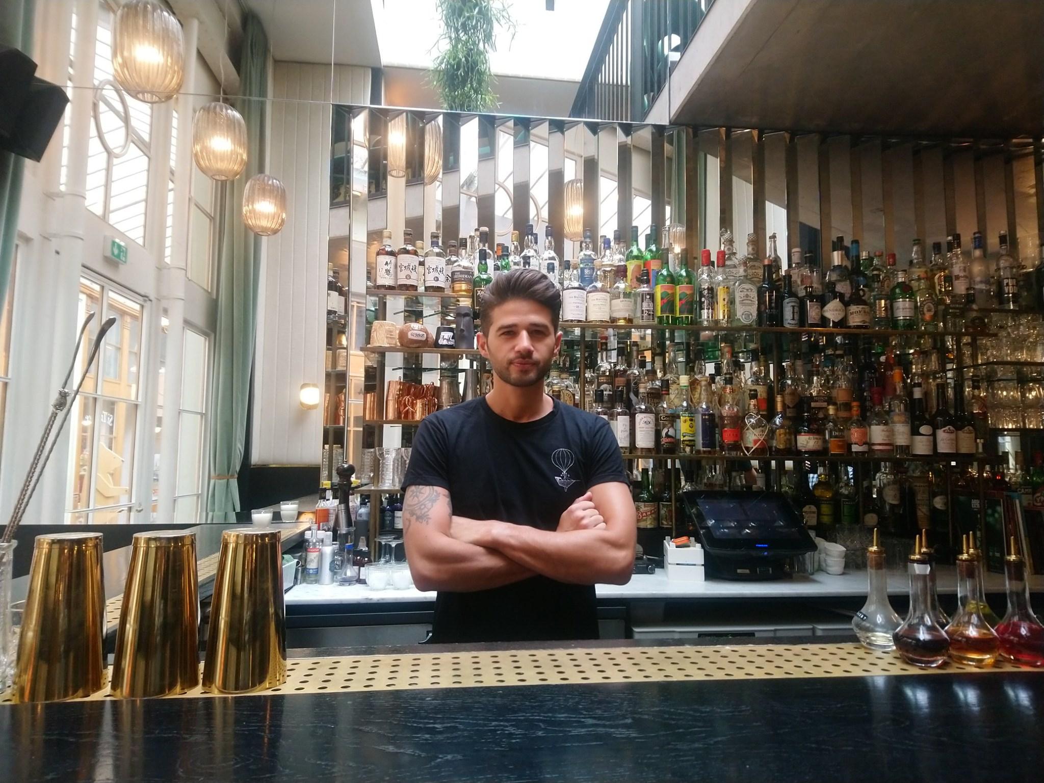 Thibault Méquignon - Bar manager du Danico à Paris - Bartender