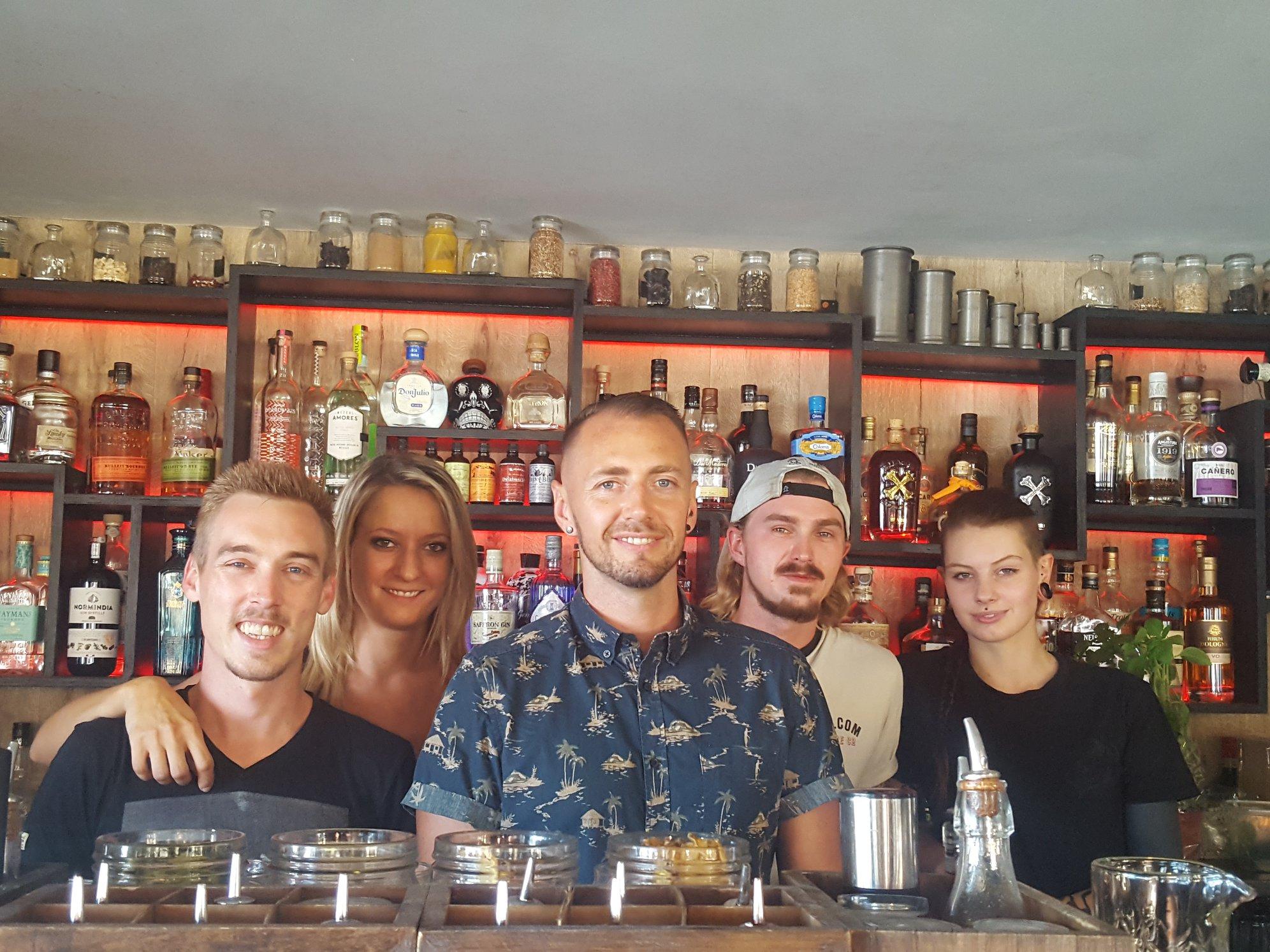 Bartenders - L'Obsolète - Saint-Raphael - Patrick Sojka