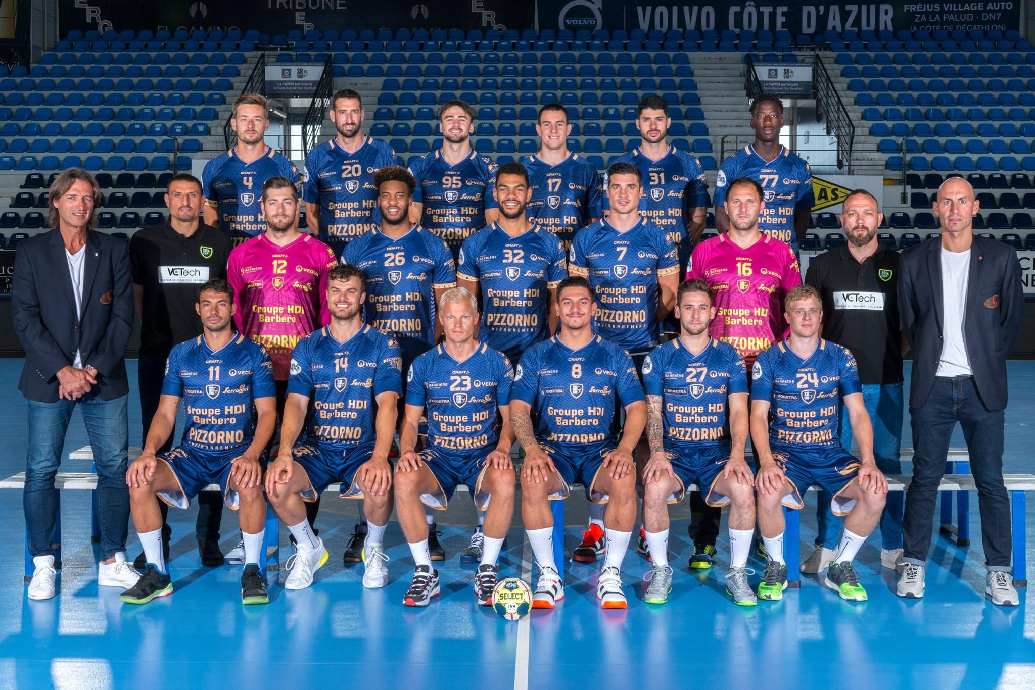 Saint-Raphaël Var Handball - Equipe 2019/2020