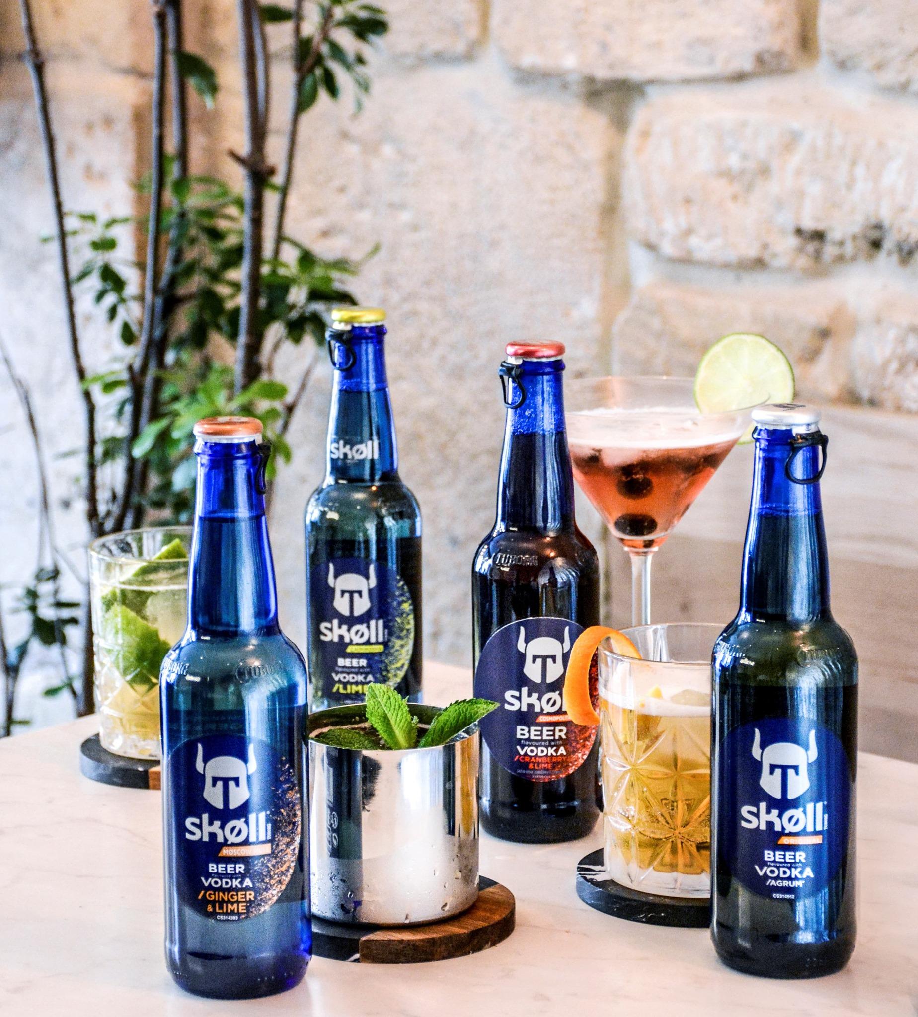 Bières Skoll pour jeunes par Kronenbourg