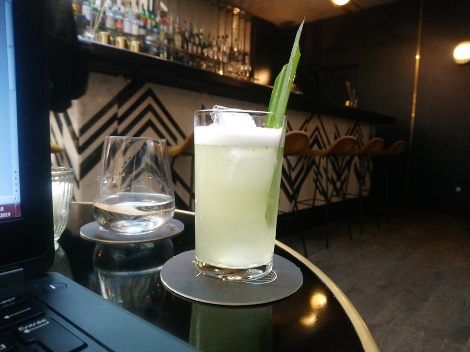 The whey of the samurai - Cocktail au Danico, Paris