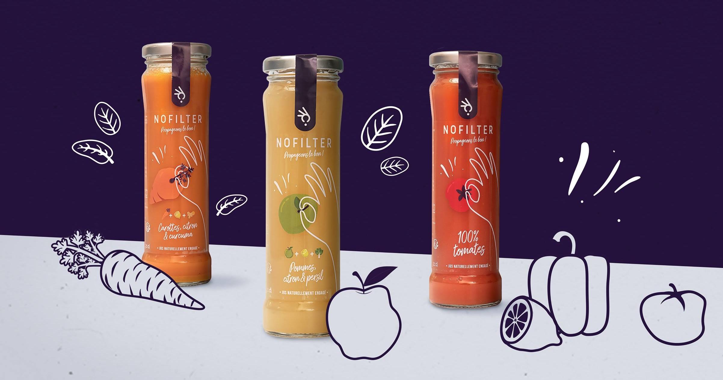 NoFilter - Jus de fruits