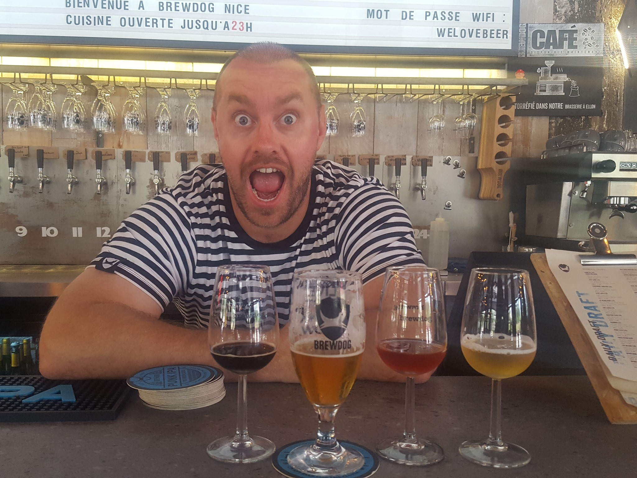 Adam Hardwick - Brewdog Nice - General manager