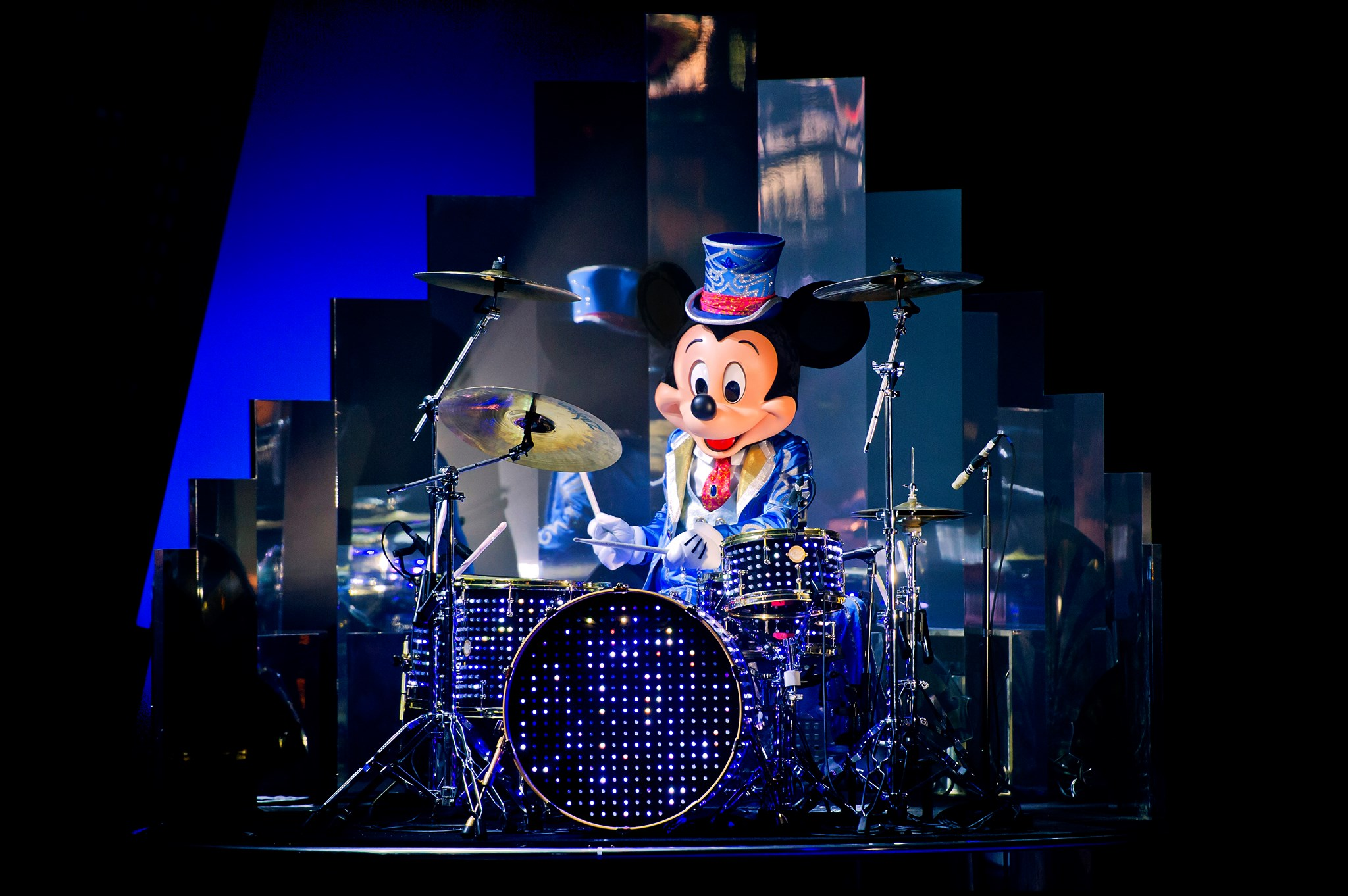 Mickey et le big band de Noel - Disneyland Paris