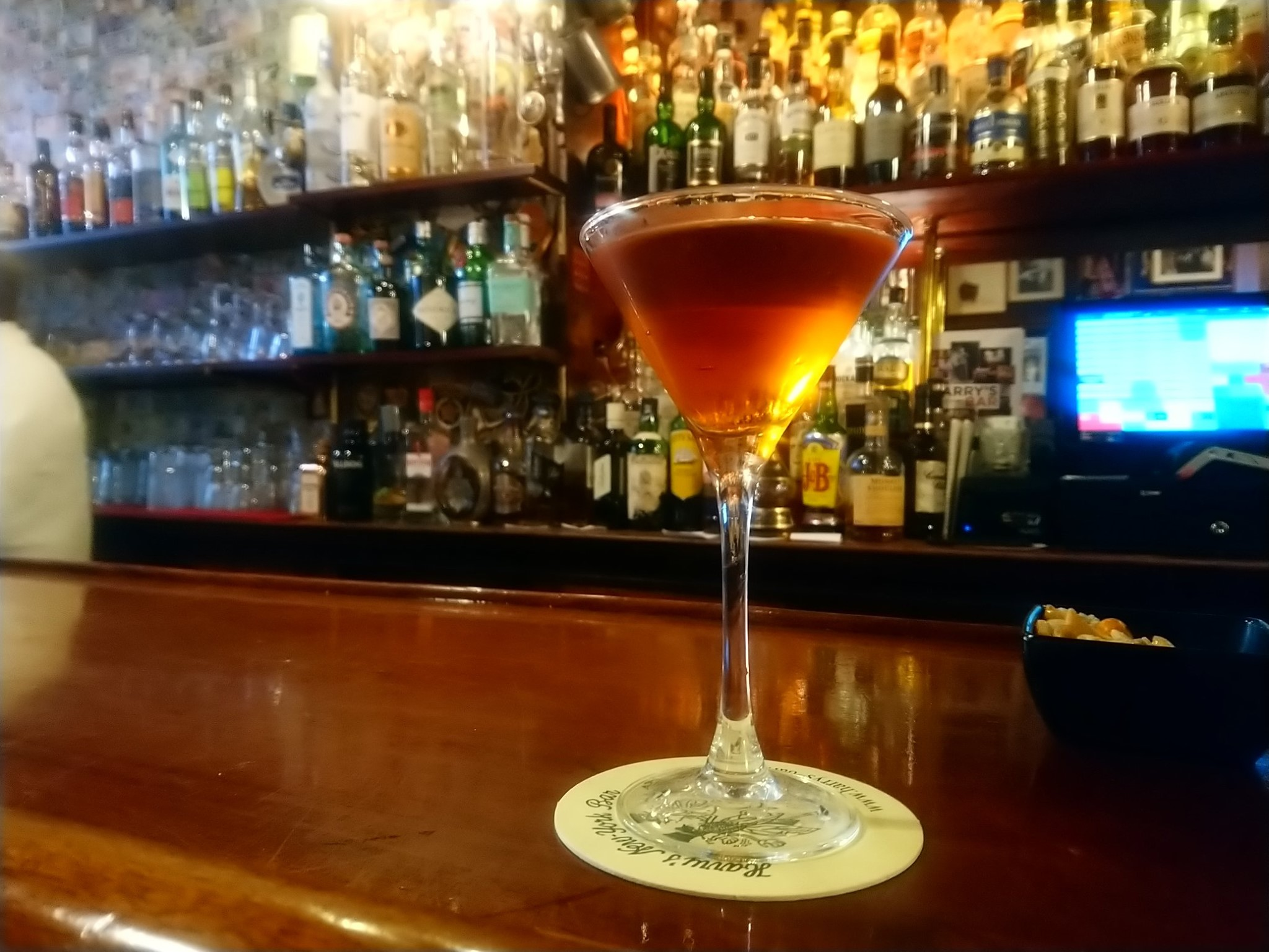 Peat Manhattan - Harry's New York Bar Paris
