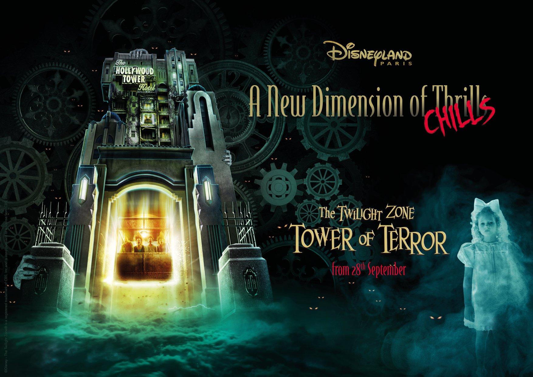La Tour de la Terreur - 28 septembre 2019 - Disneyland Paris