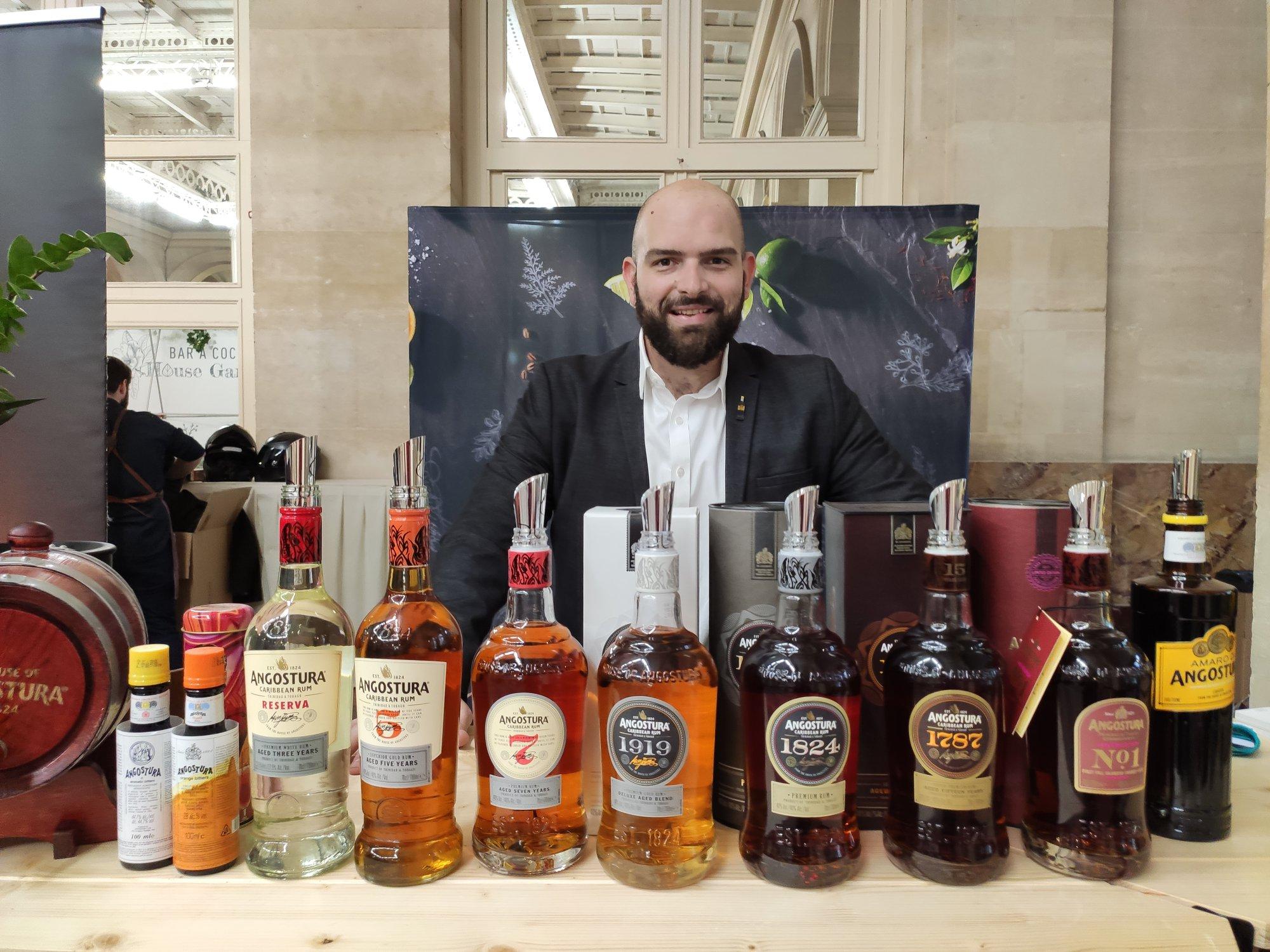 Pedro Martinez - Brand ambassador Angostura