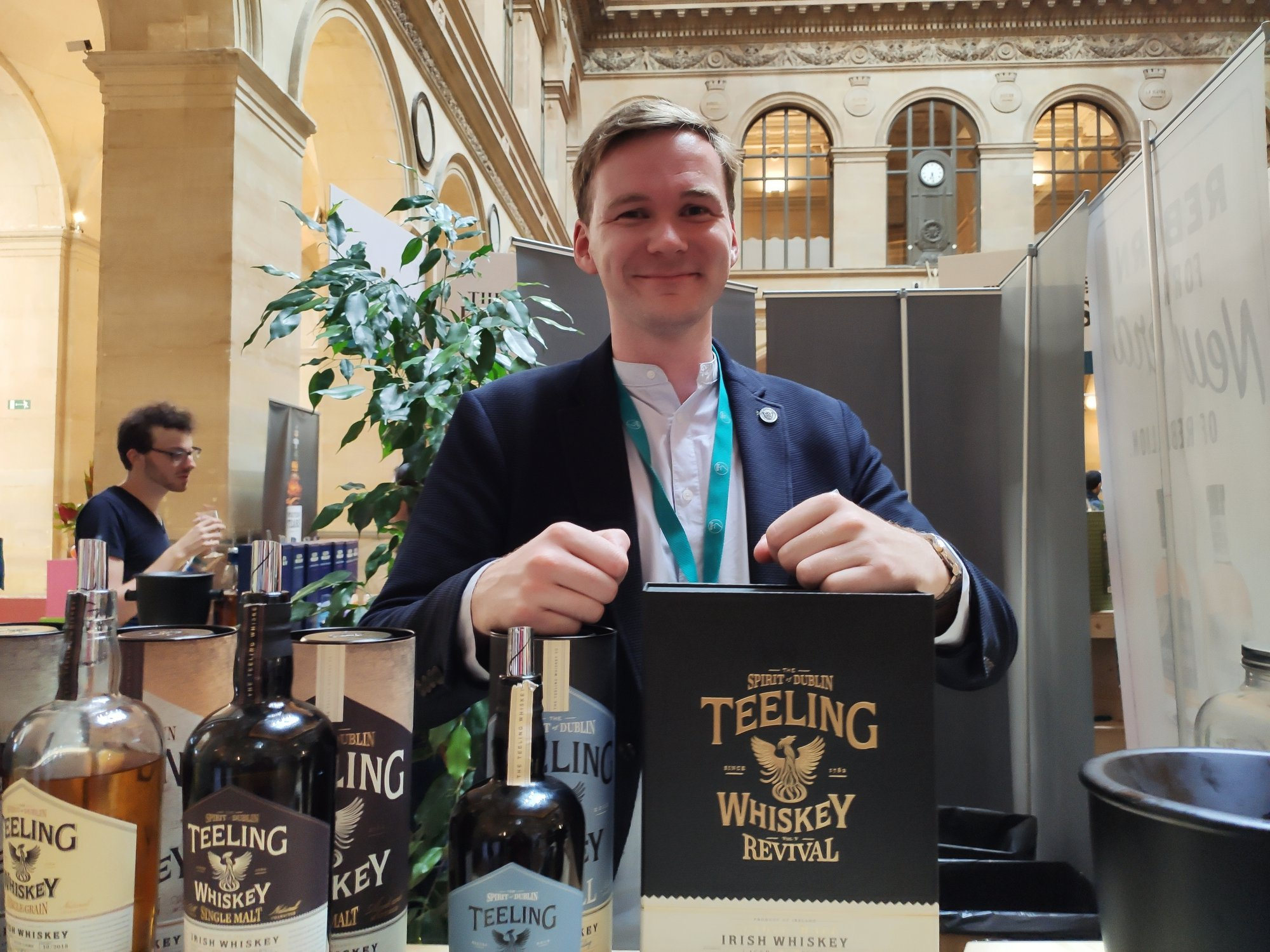 Christopher Hayes - Teeling Whiskey